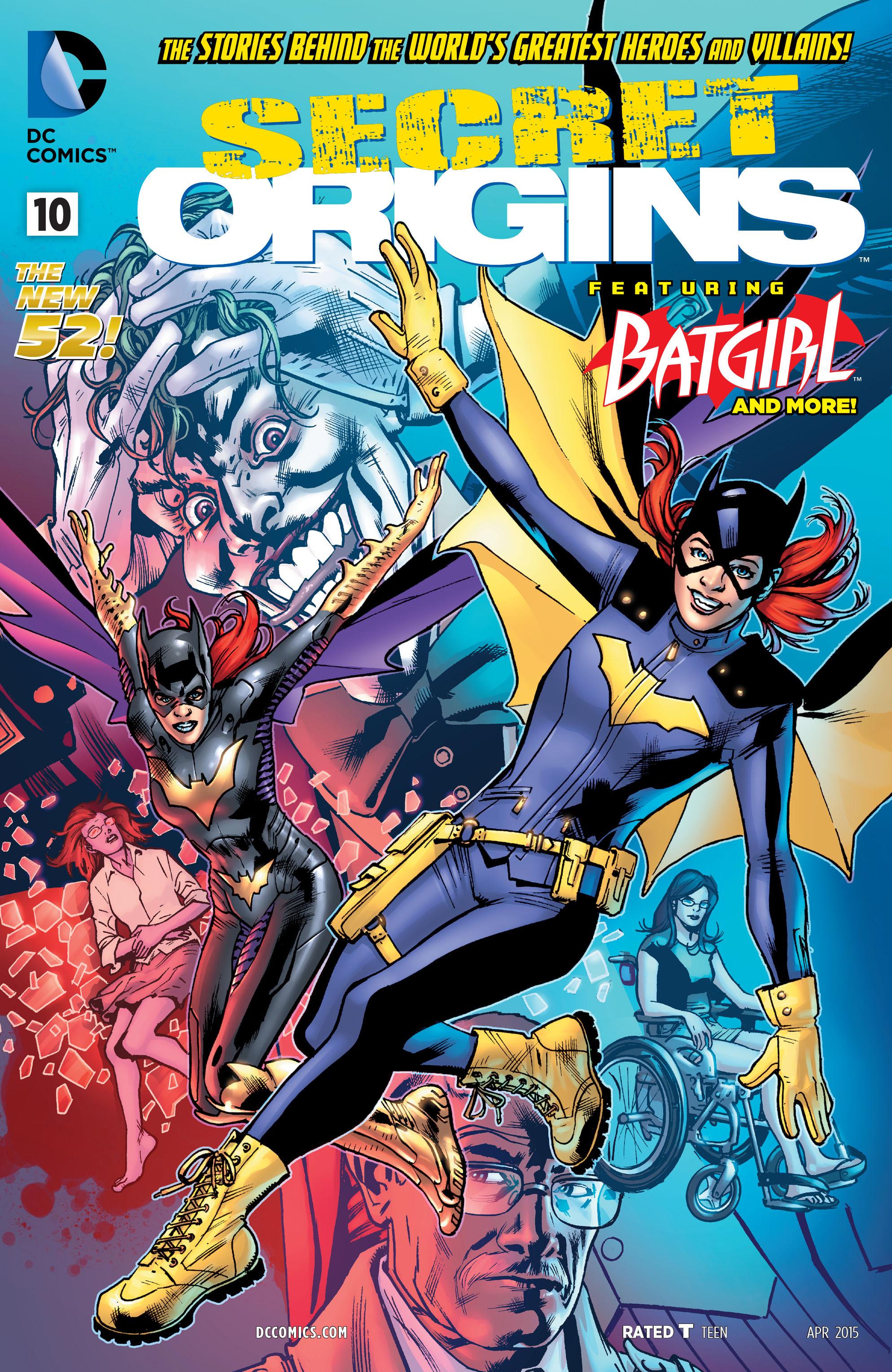 Read online Secret Origins (2014) comic -  Issue #10 - 1