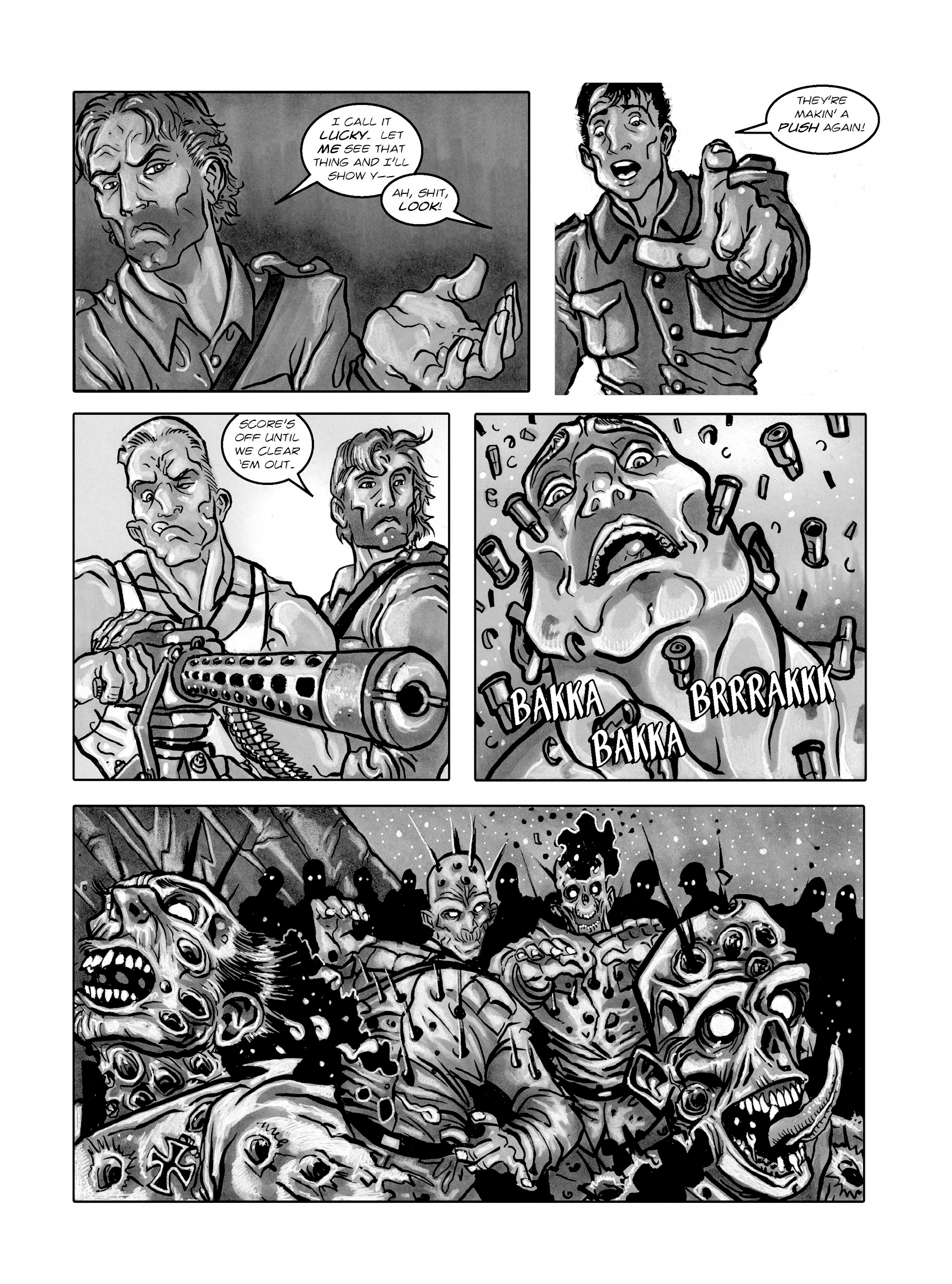 Read online FUBAR comic -  Issue #1 - 101