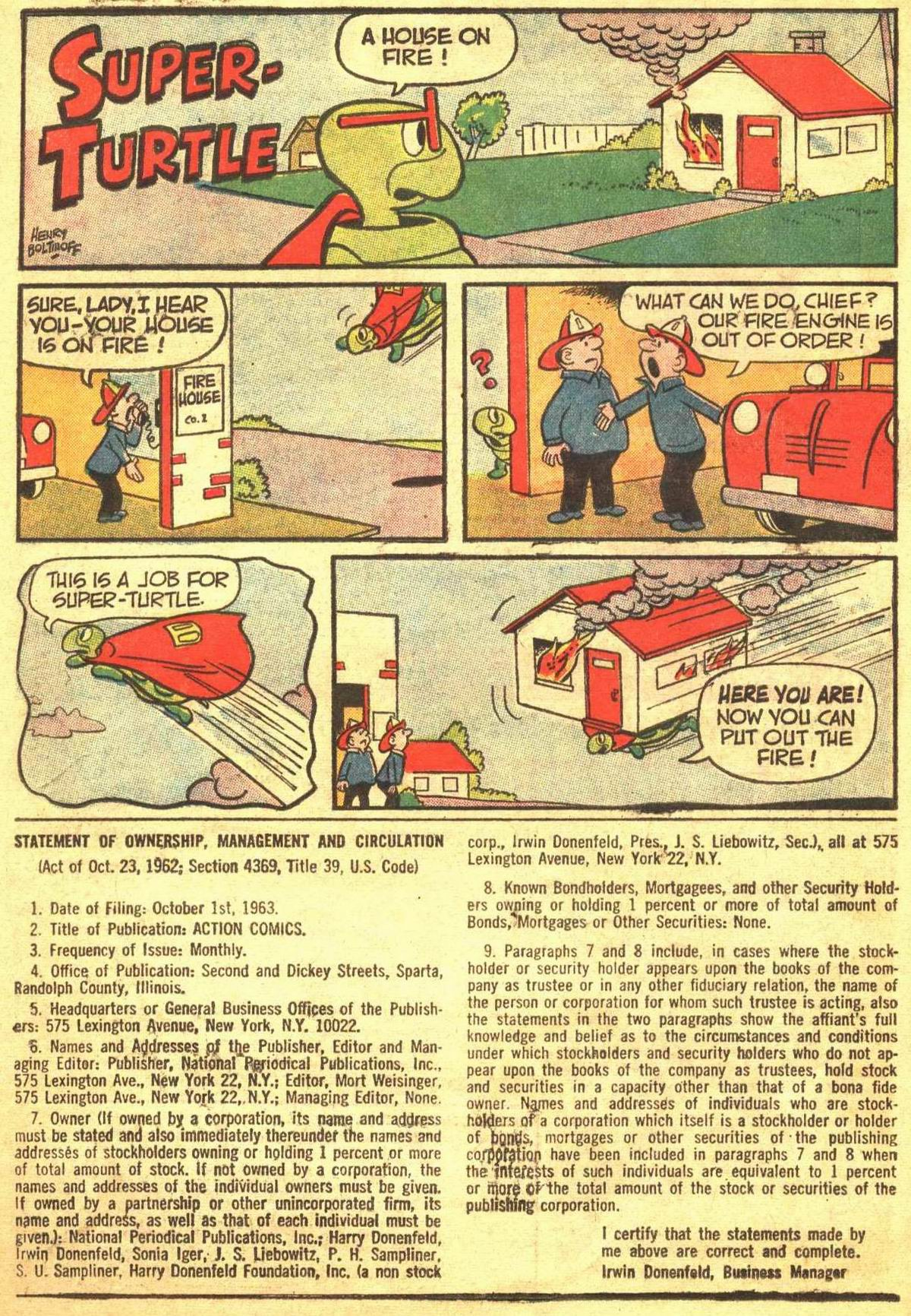 Read online Action Comics (1938) comic -  Issue #309 - 18