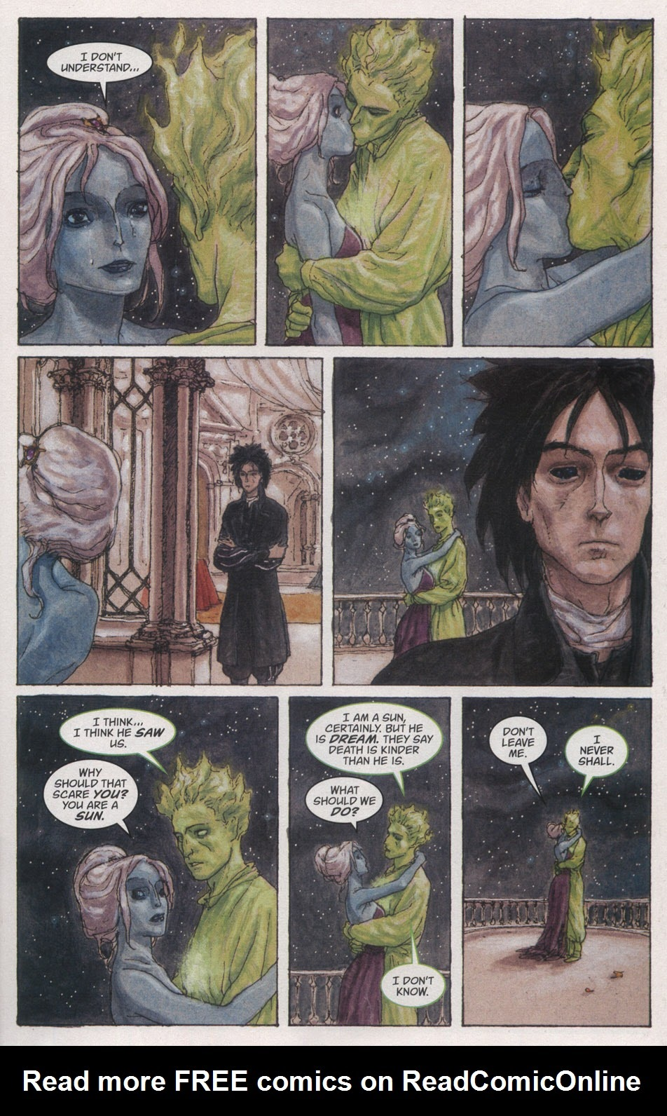 Read online The Sandman: Endless Nights comic -  Issue # _Special - 21