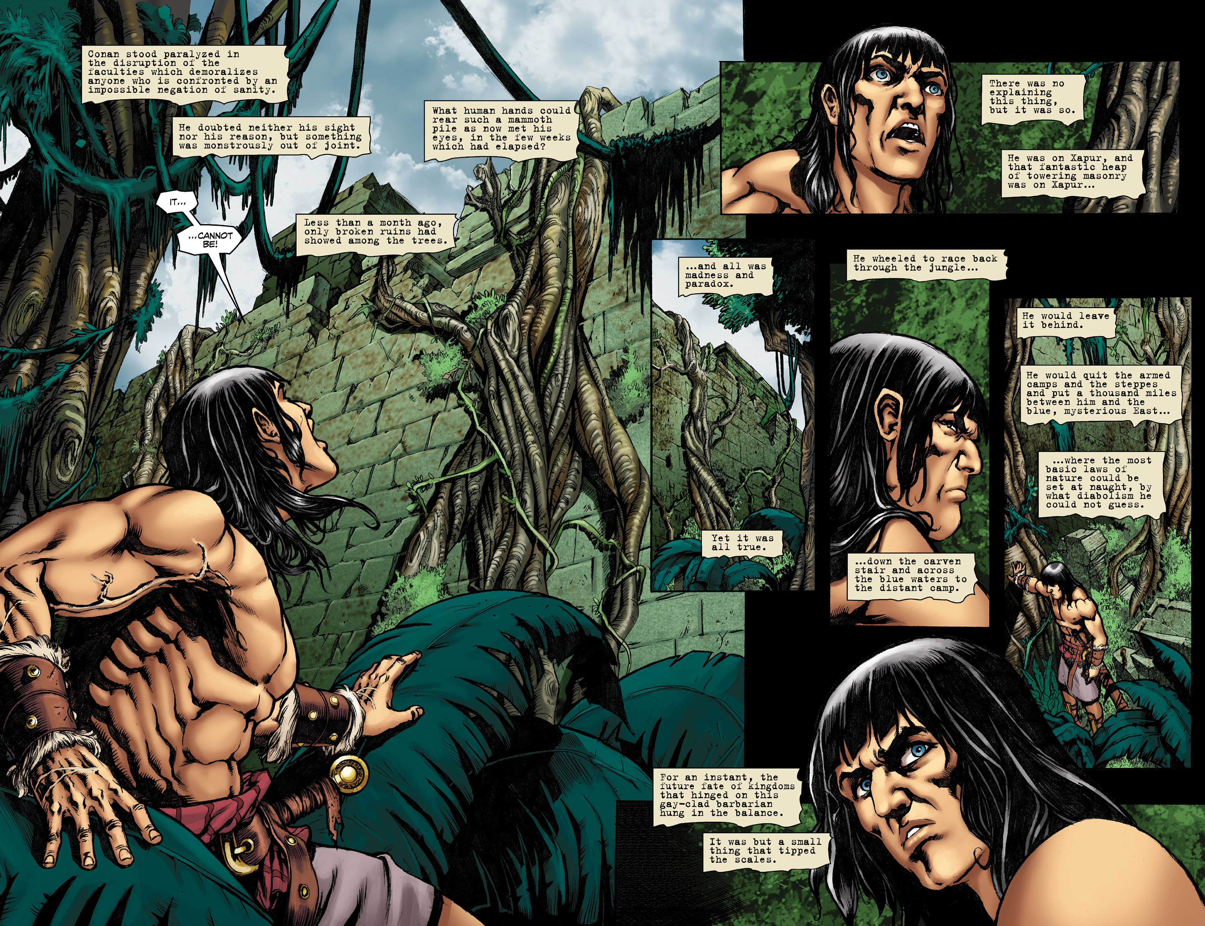 Read online Conan The Slayer comic -  Issue #9 - 4