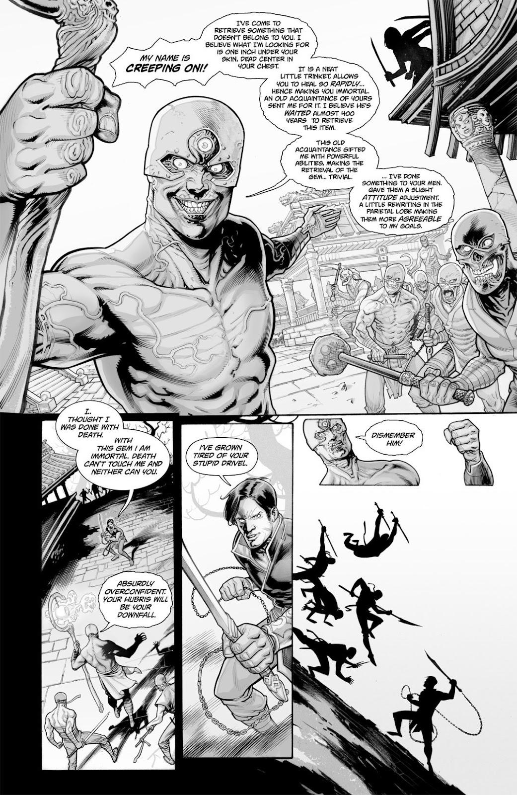 Read online Reaper comic -  Issue #2 - 19