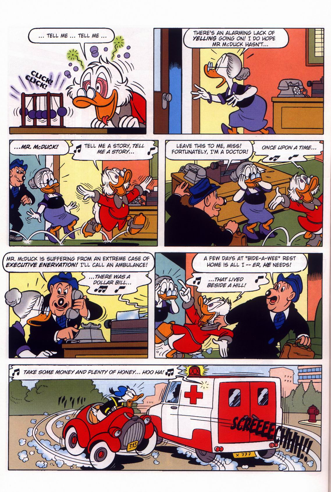 Read online Uncle Scrooge (1953) comic -  Issue #316 - 52