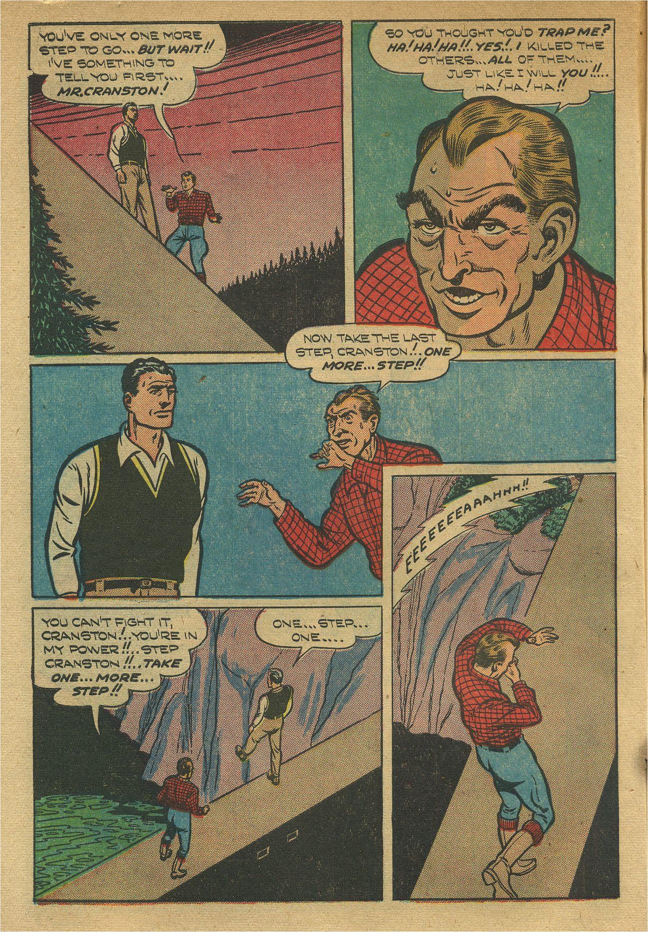 Read online Shadow Comics comic -  Issue #93 - 13