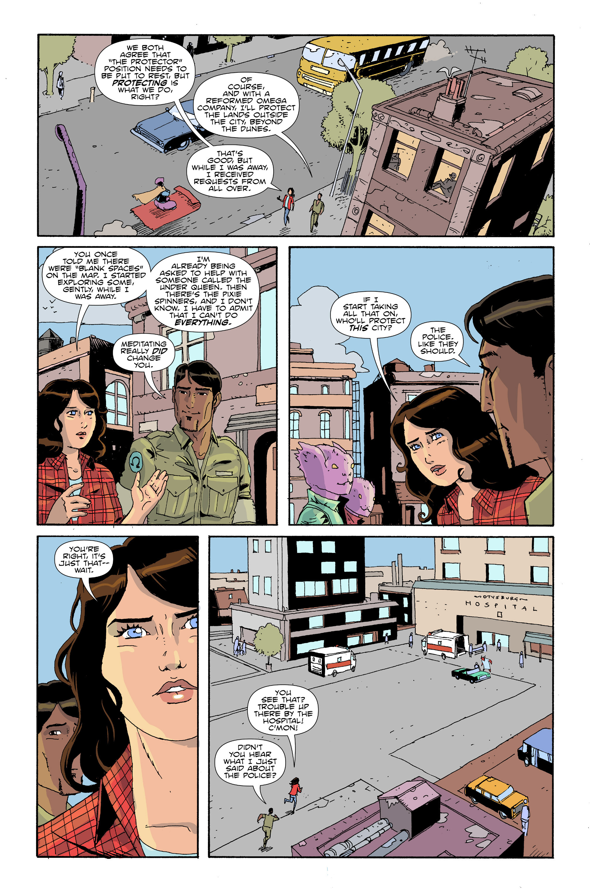Read online Amelia Cole Versus The End of Everything comic -  Issue #30 - 7