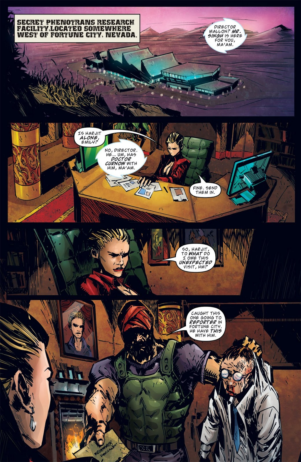 Read online Dead Rising: Road to Fortune comic -  Issue #2 - 16