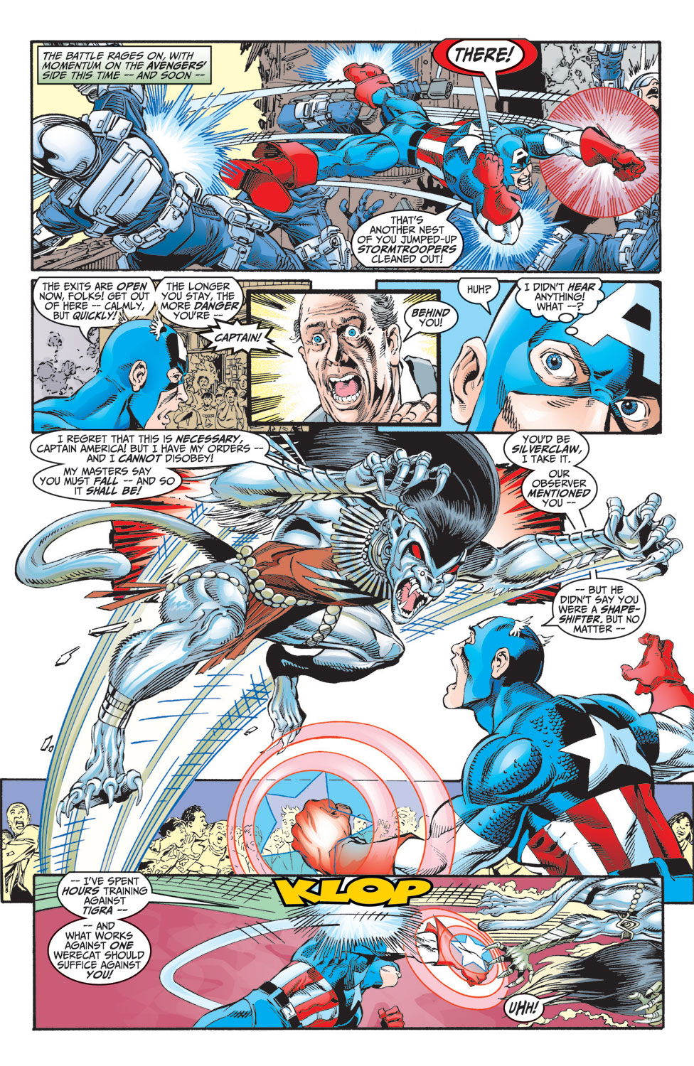 Read online Avengers (1998) comic -  Issue #8 - 16