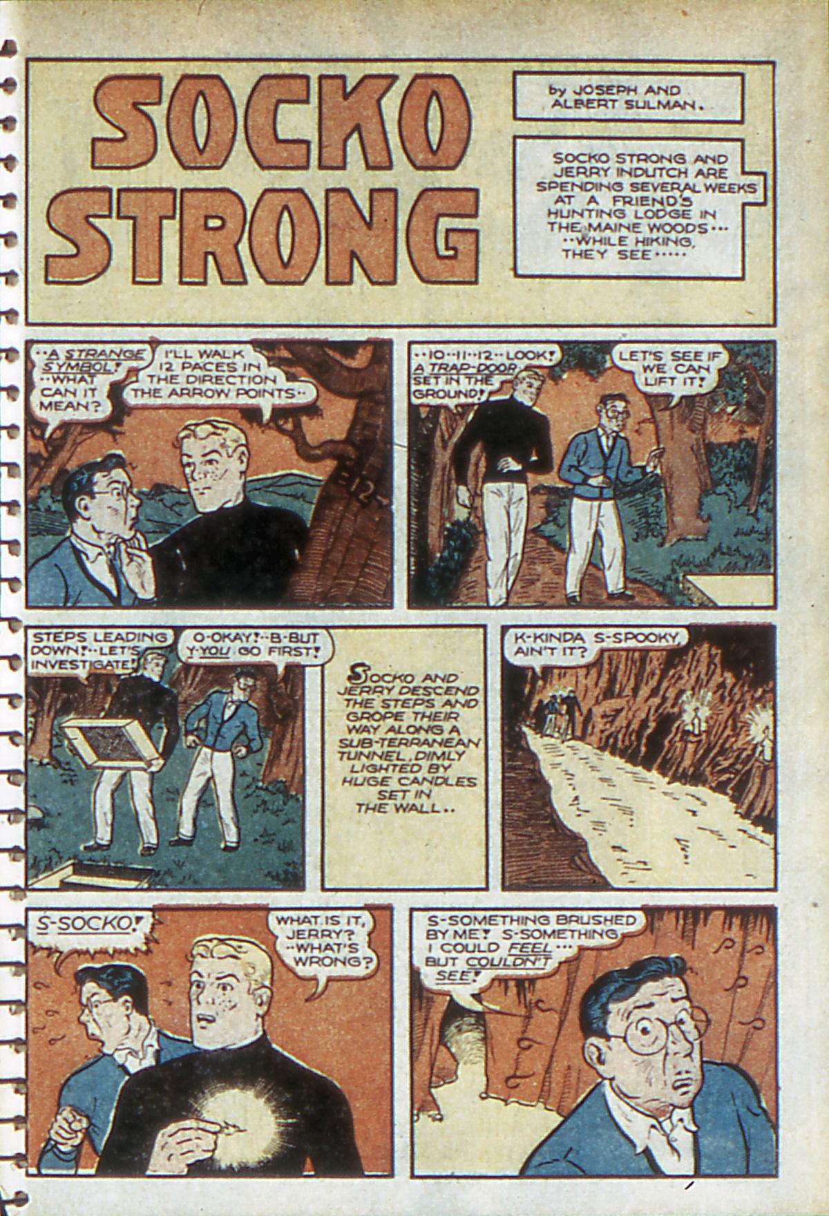 Read online Adventure Comics (1938) comic -  Issue #52 - 47