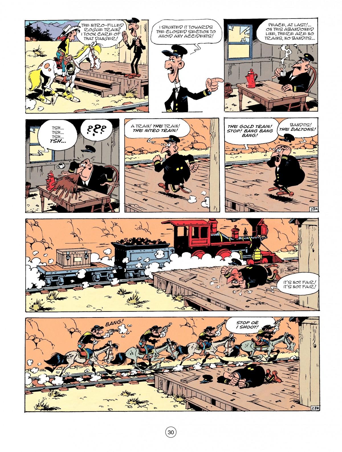 Read online A Lucky Luke Adventure comic -  Issue #53 - 30
