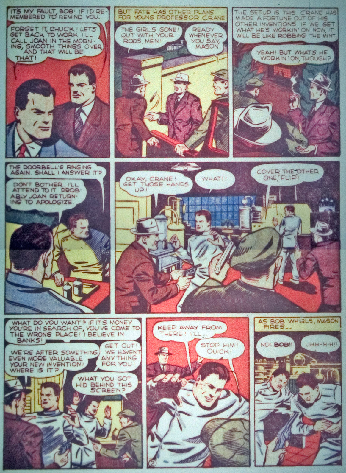 Star Spangled Comics (1941) issue 7 - Page 33