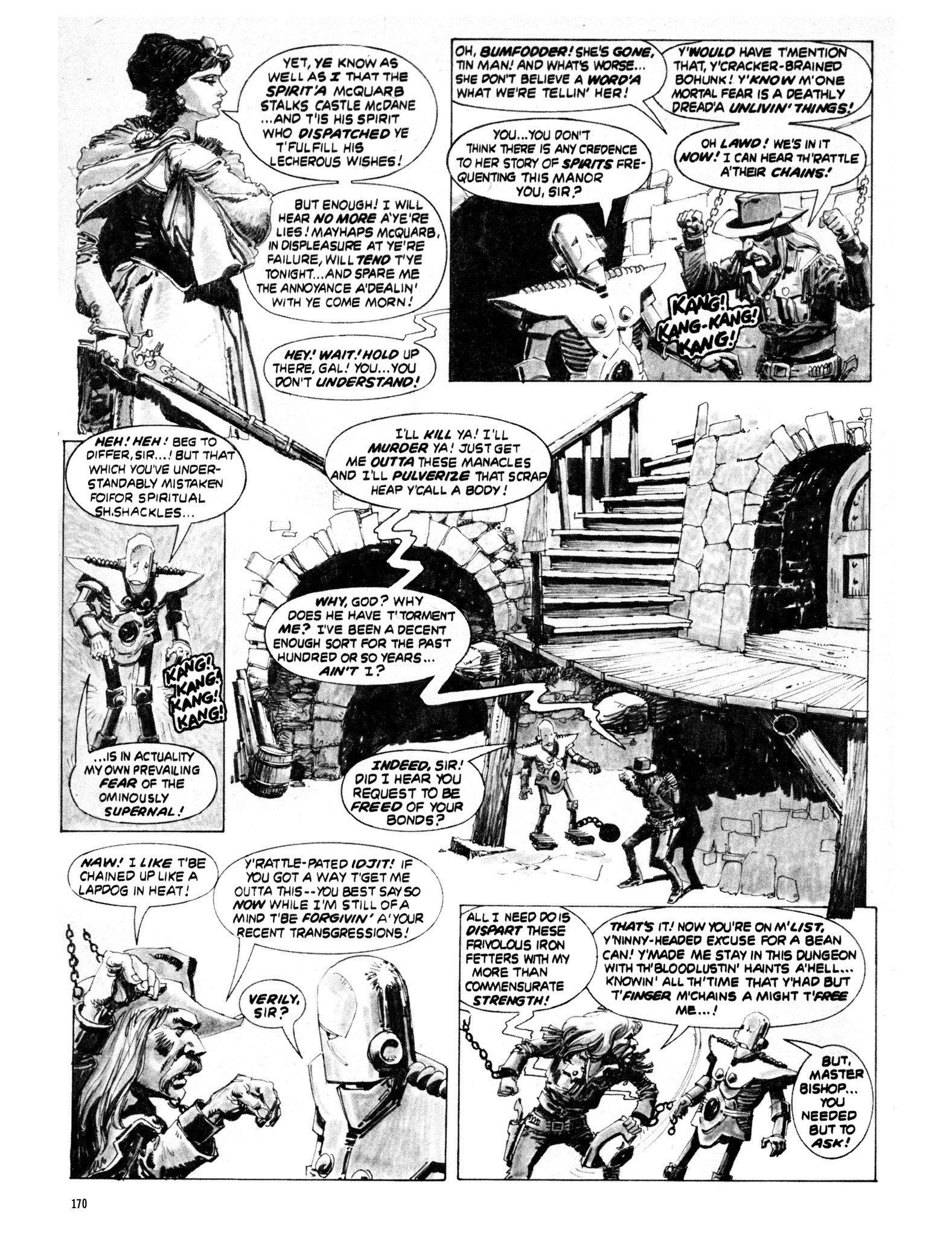 Read online Eerie Archives comic -  Issue # TPB 20 - 170