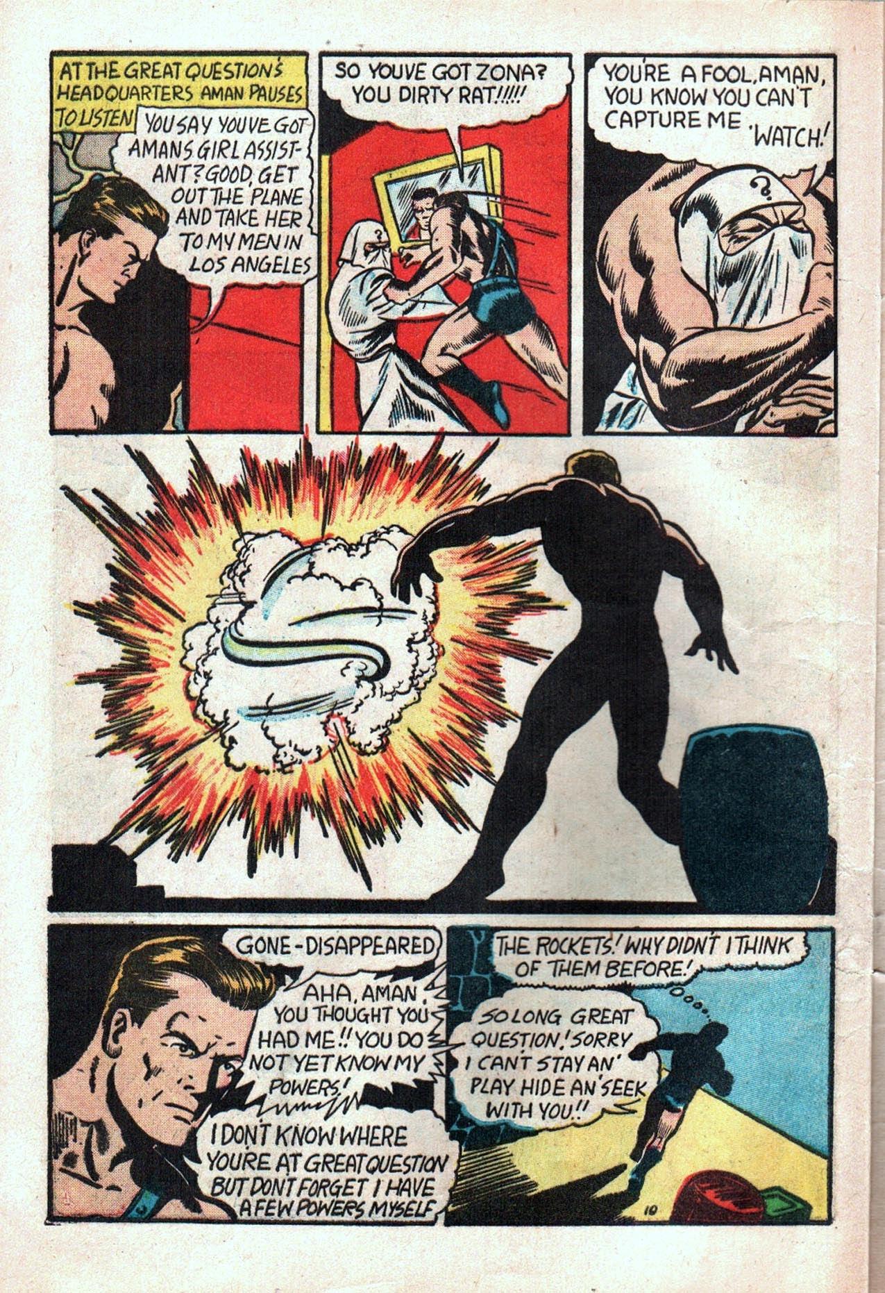 Read online Amazing Man Comics comic -  Issue #20 - 13