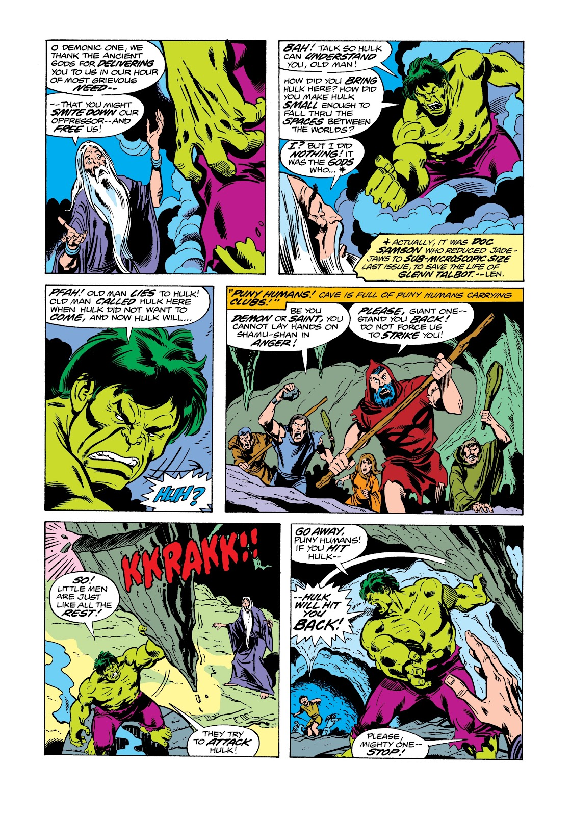 Read online Marvel Masterworks: The Incredible Hulk comic -  Issue # TPB 12 (Part 2) - 21
