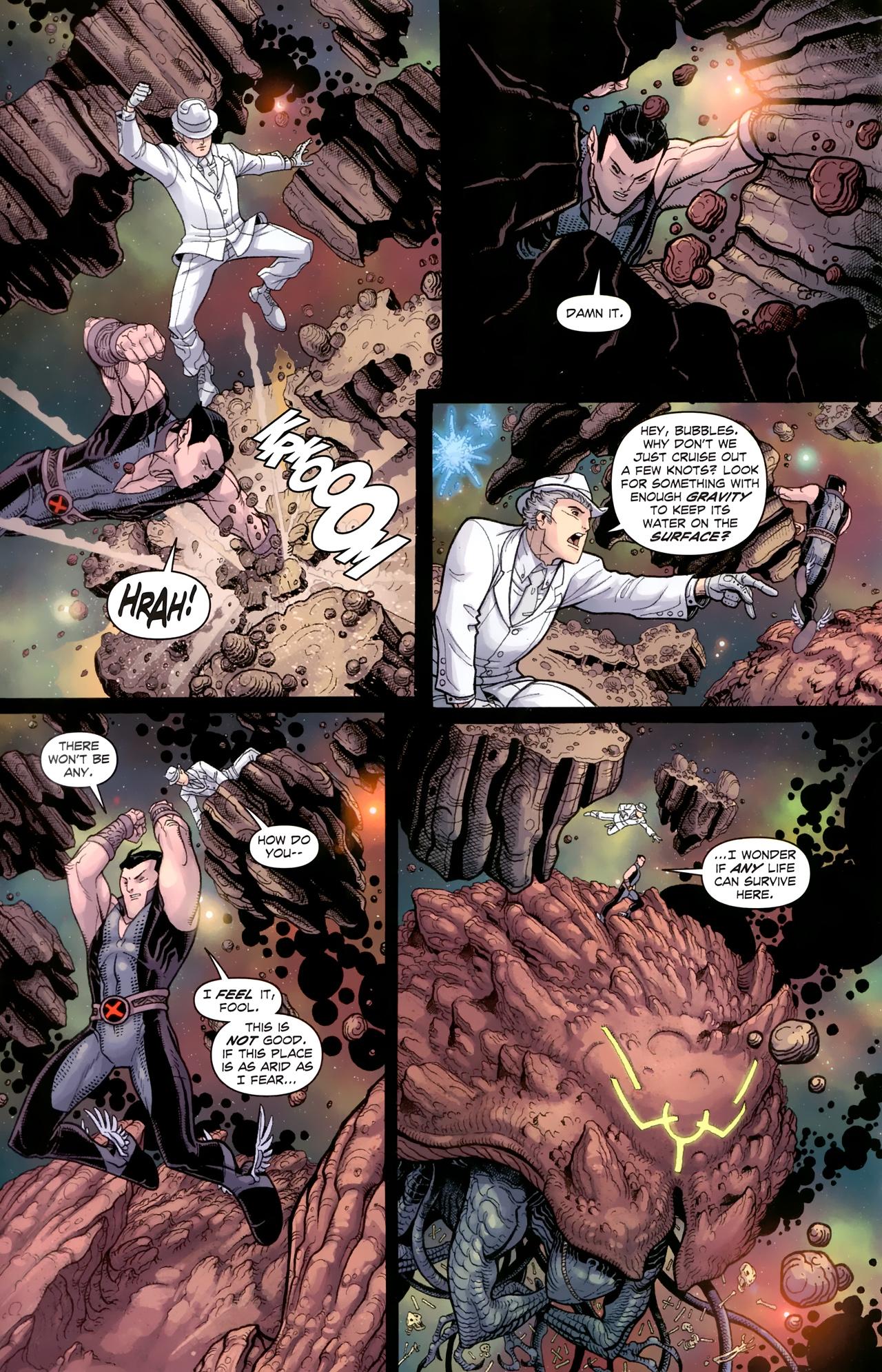 Read online Uncanny X-Men (1963) comic -  Issue # _Annual 3 (2011) - 14