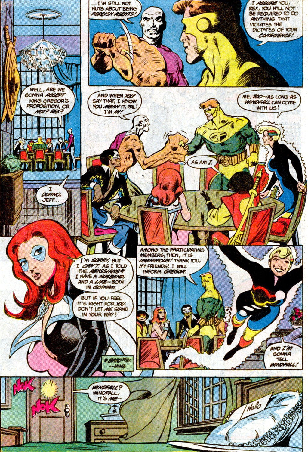 Read online Adventures of the Outsiders comic -  Issue #36 - 12