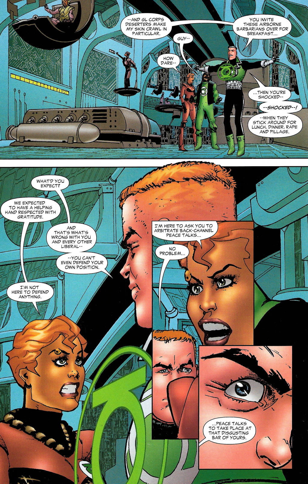 Read online Guy Gardner: Collateral Damage comic -  Issue #1 - 26