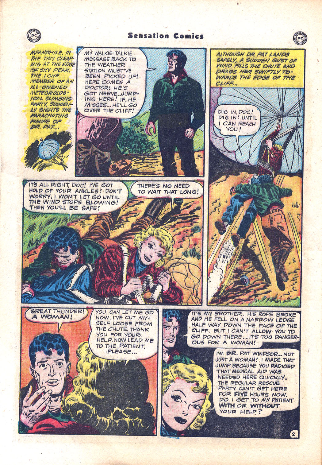 Read online Sensation (Mystery) Comics comic -  Issue #94 - 40