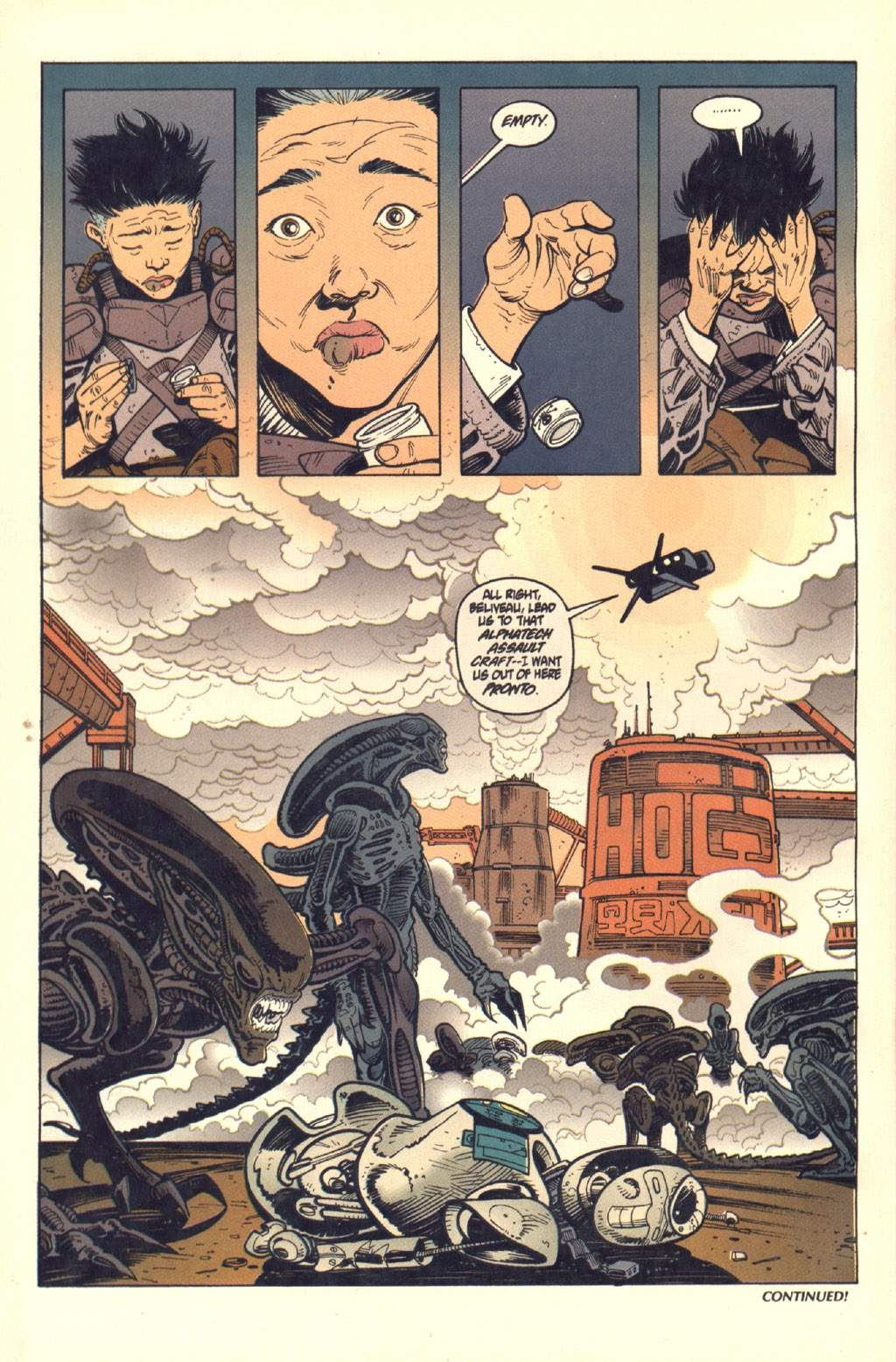 Read online Aliens: Colonial Marines comic -  Issue #7 - 25