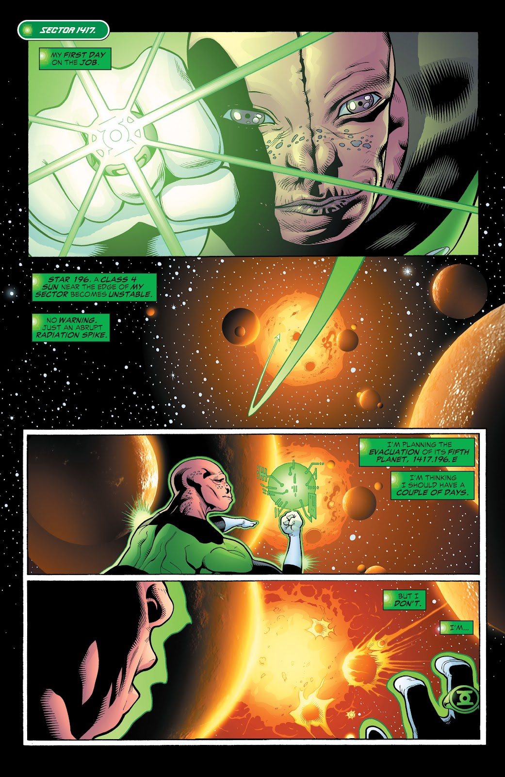 Read online Green Lantern by Geoff Johns comic -  Issue # TPB 1 (Part 2) - 79