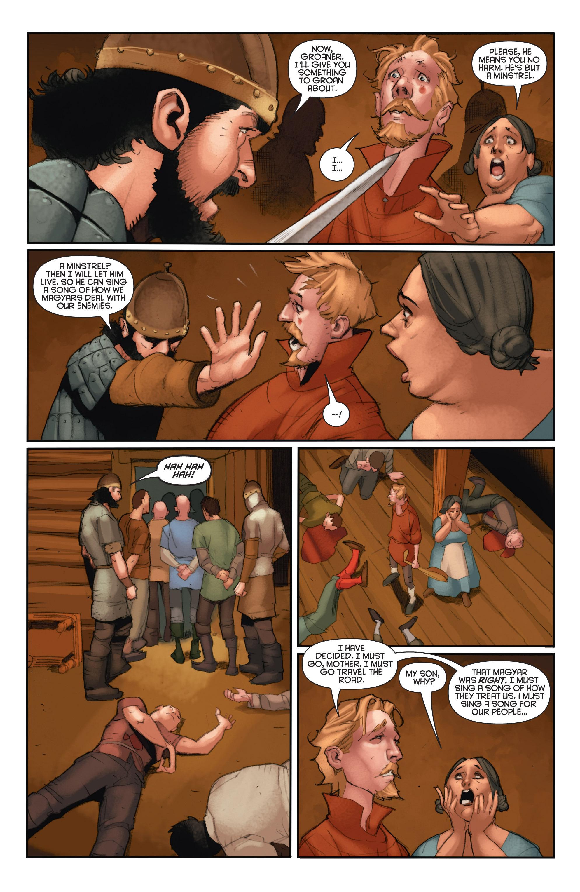Read online Eternal Warrior: Days of Steel comic -  Issue #2 - 21