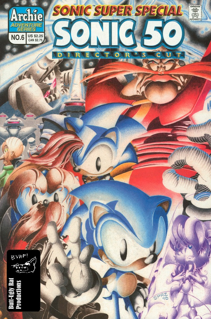 Read online Sonic Super Special comic -  Issue #6 - The big 50 - 1