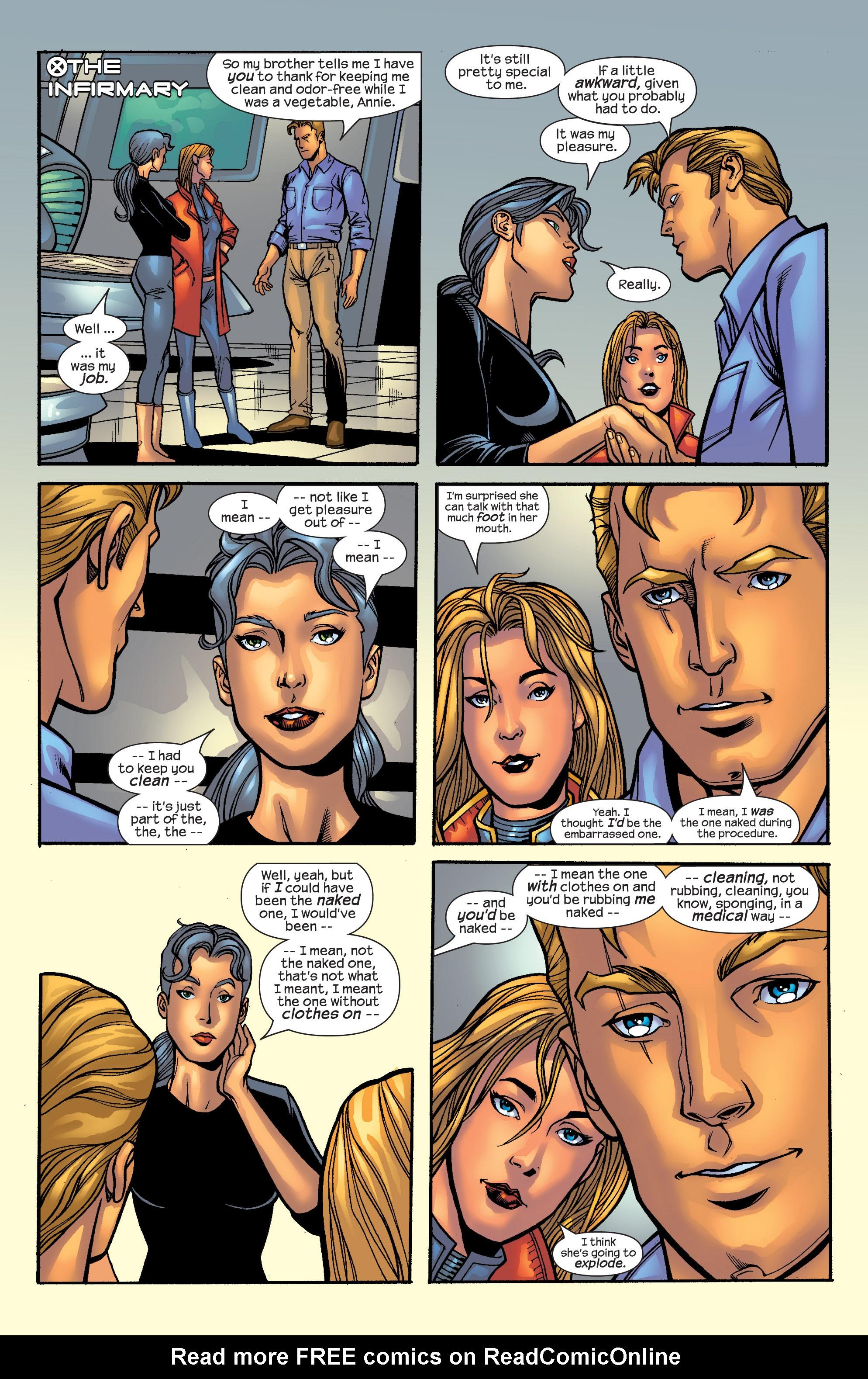 Read online Uncanny X-Men (1963) comic -  Issue #421 - 21