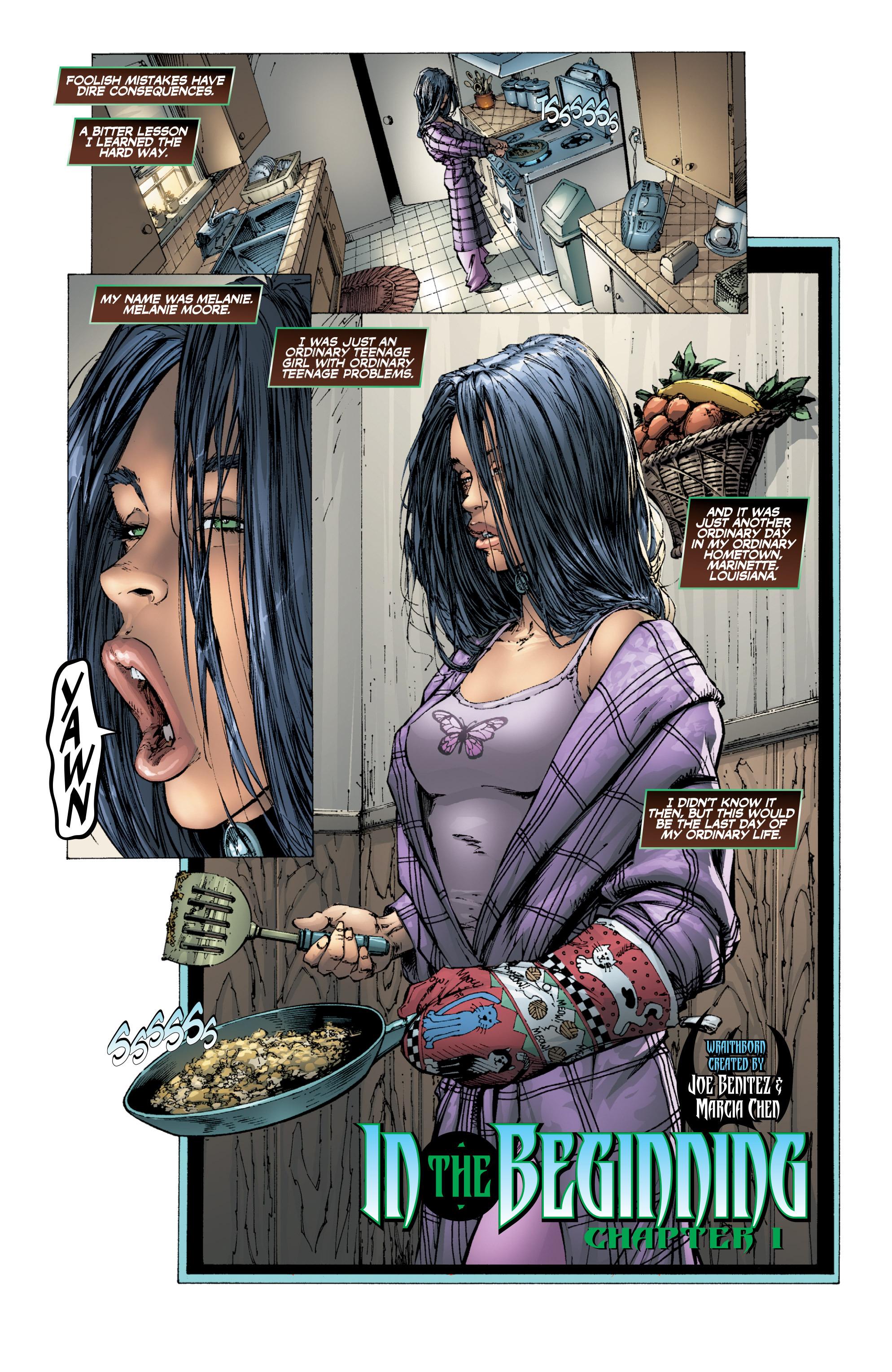 Read online Wraithborn Redux comic -  Issue #1 - 10