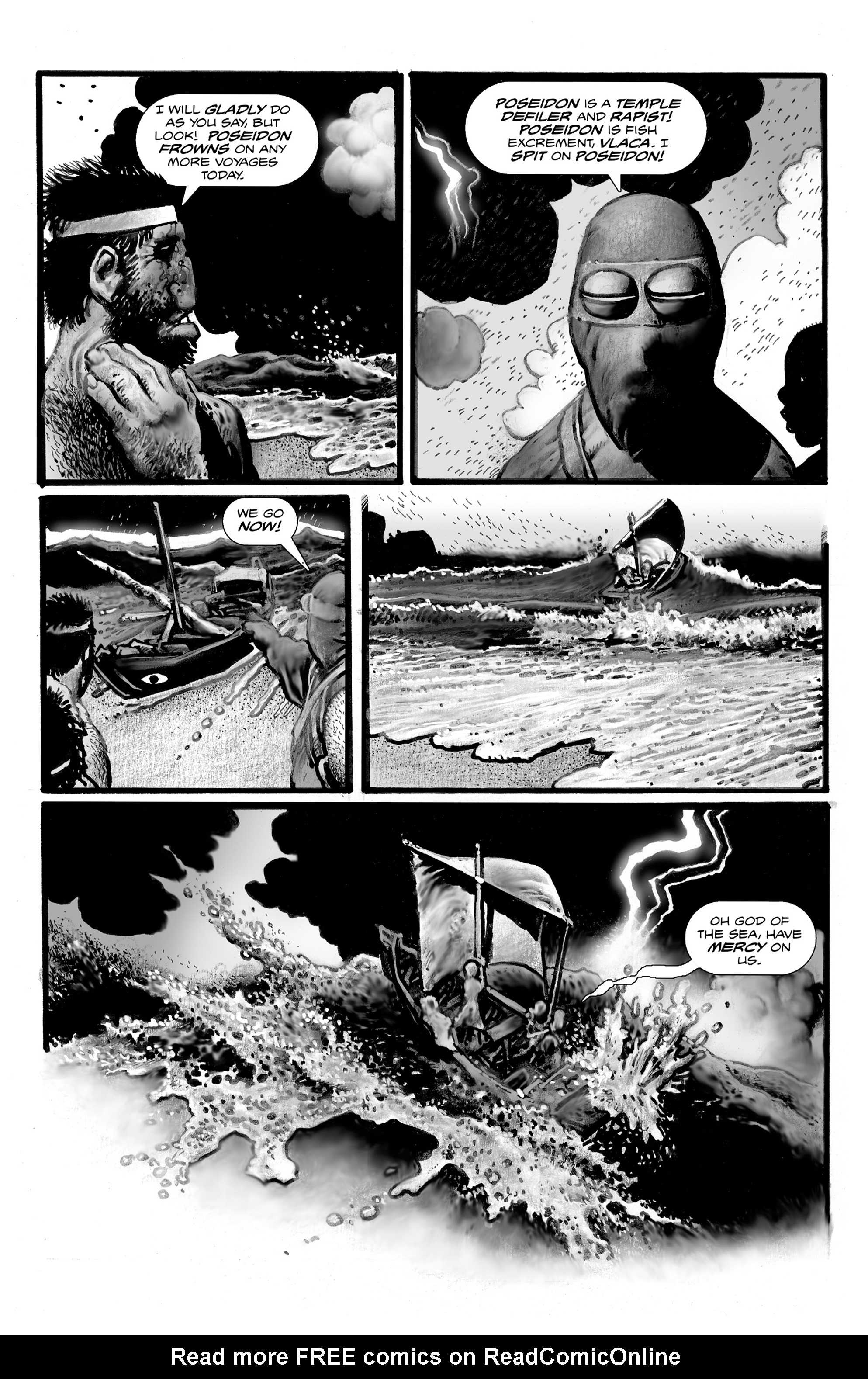 Read online Shadows on the Grave comic -  Issue #3 - 28
