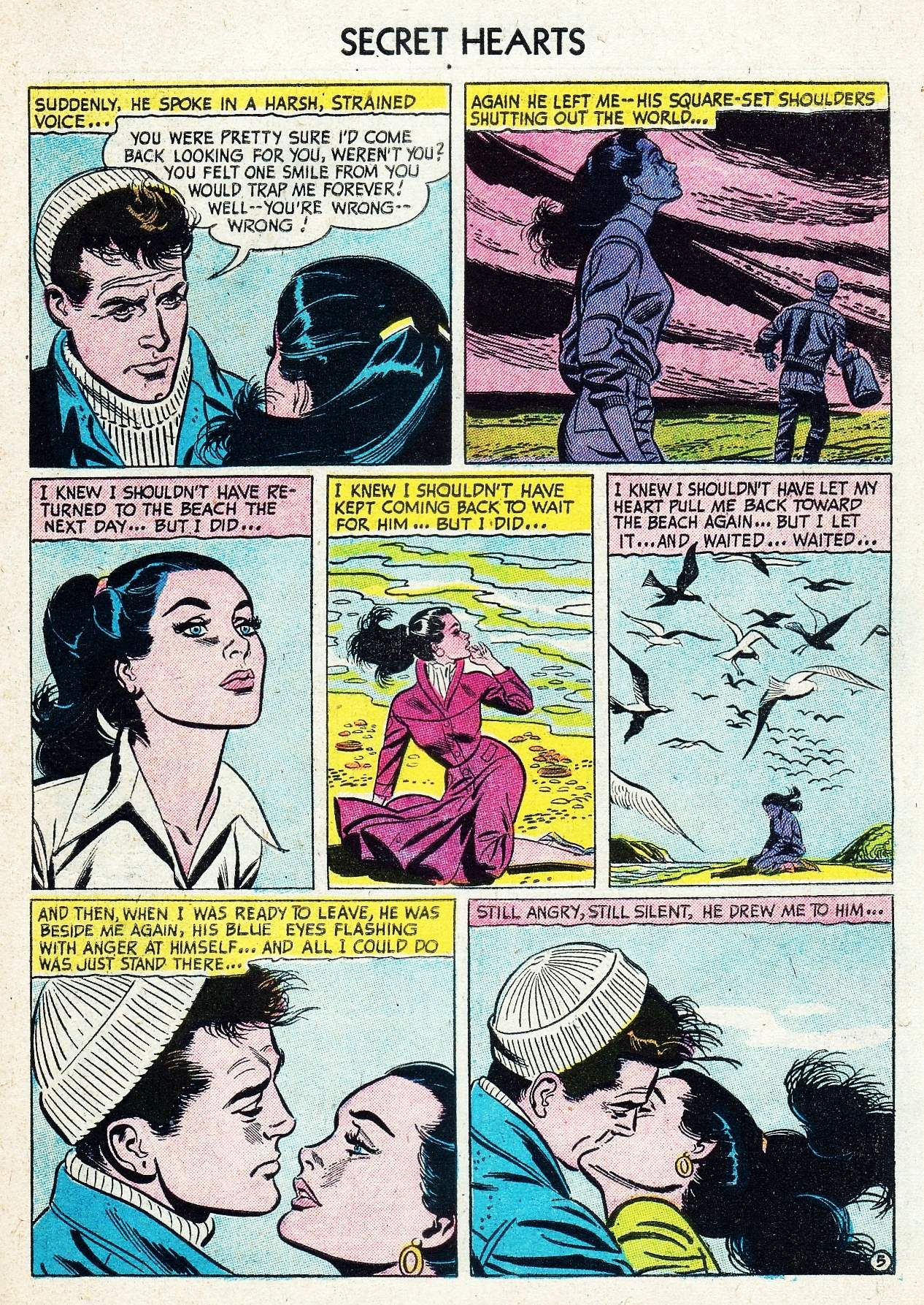 Read online Secret Hearts comic -  Issue #29 - 31
