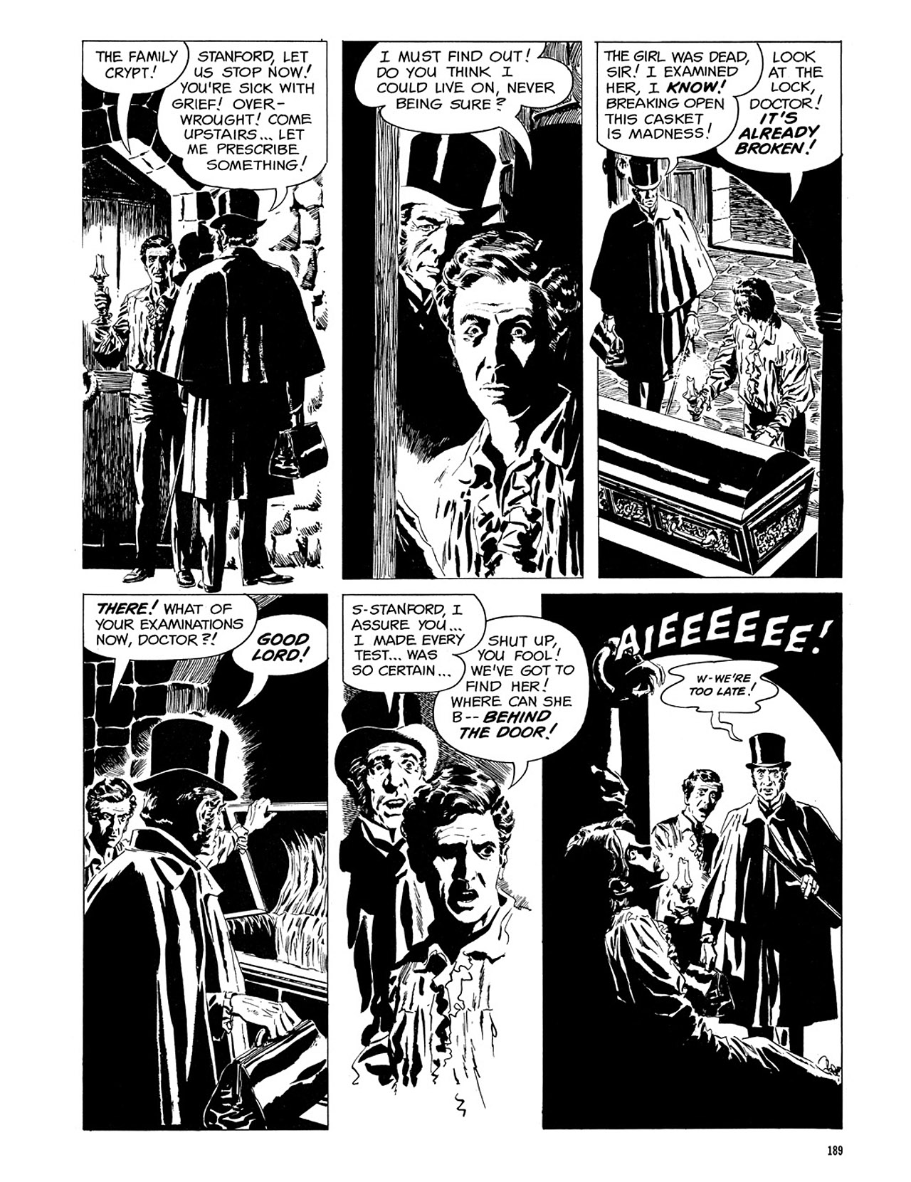 Read online Eerie Archives comic -  Issue # TPB 3 - 190