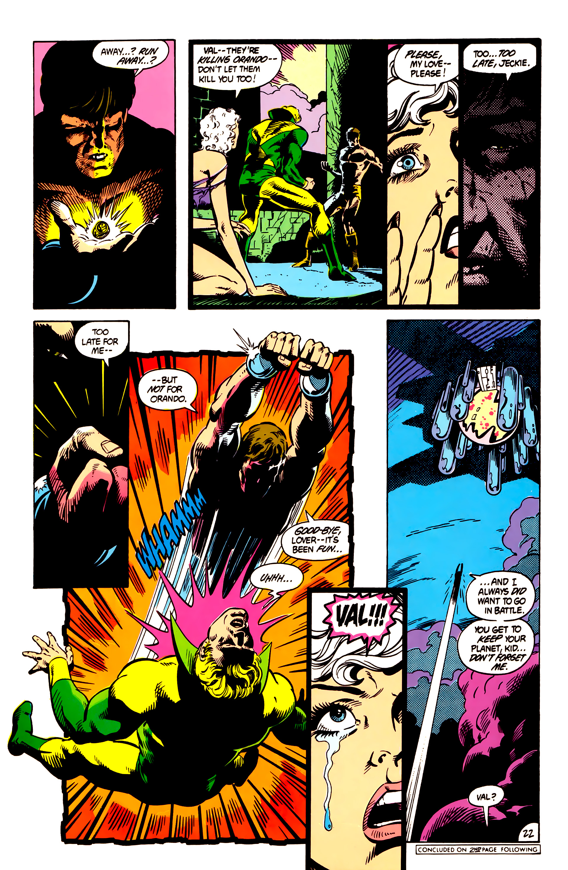 Legion of Super-Heroes (1984) 4 Page 23