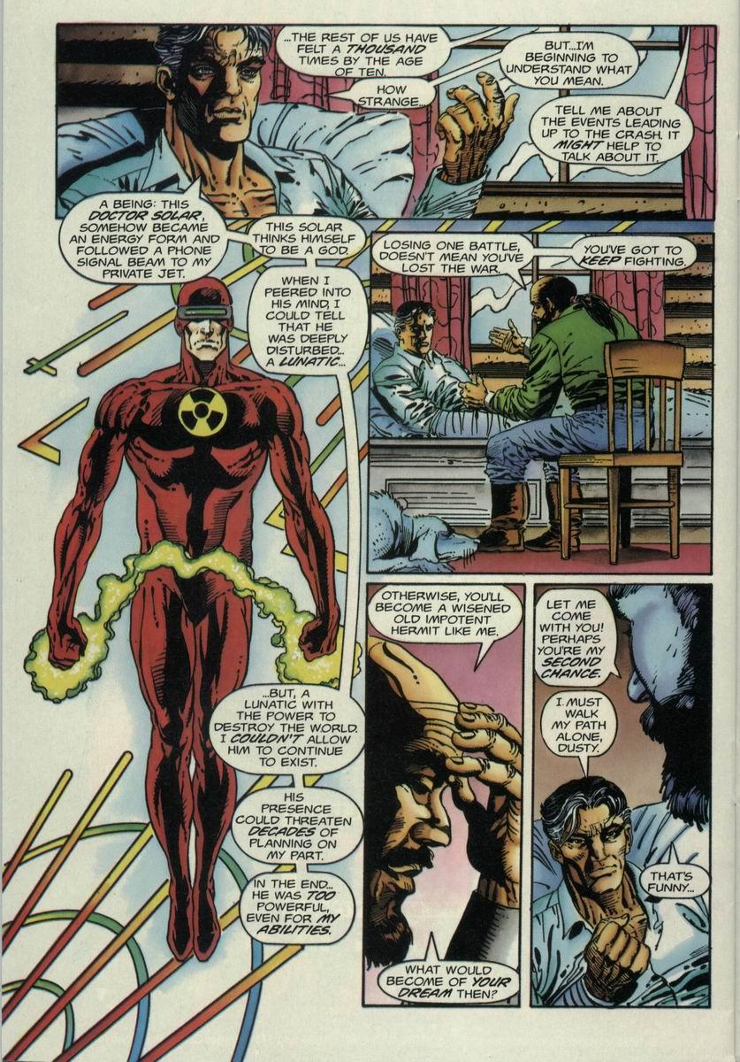 Read online Harbinger Files comic -  Issue #1 - 19