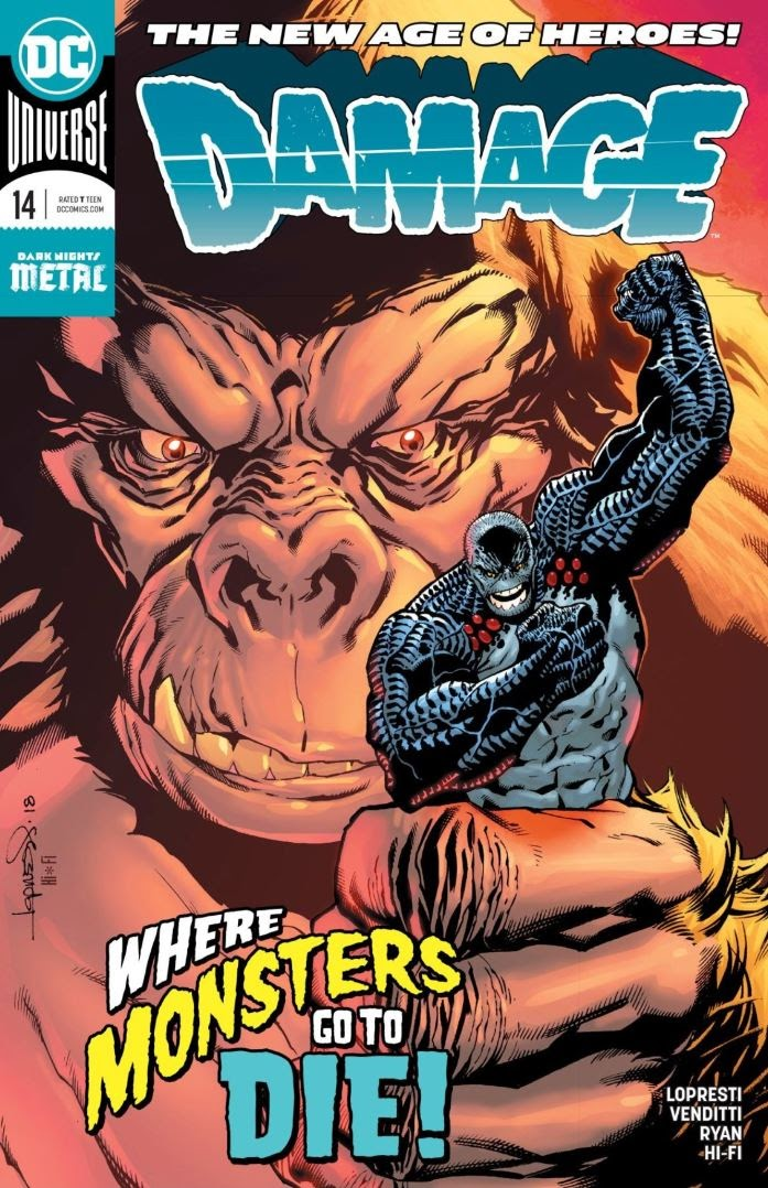 Read online Damage (2018) comic -  Issue #14 - 1