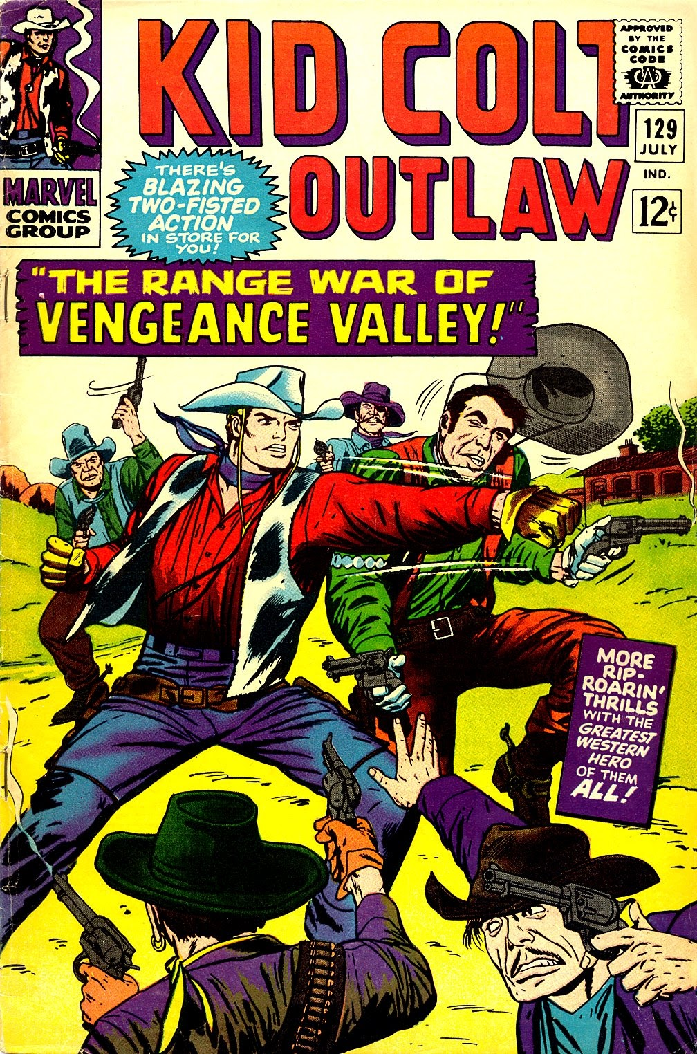 Kid Colt Outlaw issue 129 - Page 1