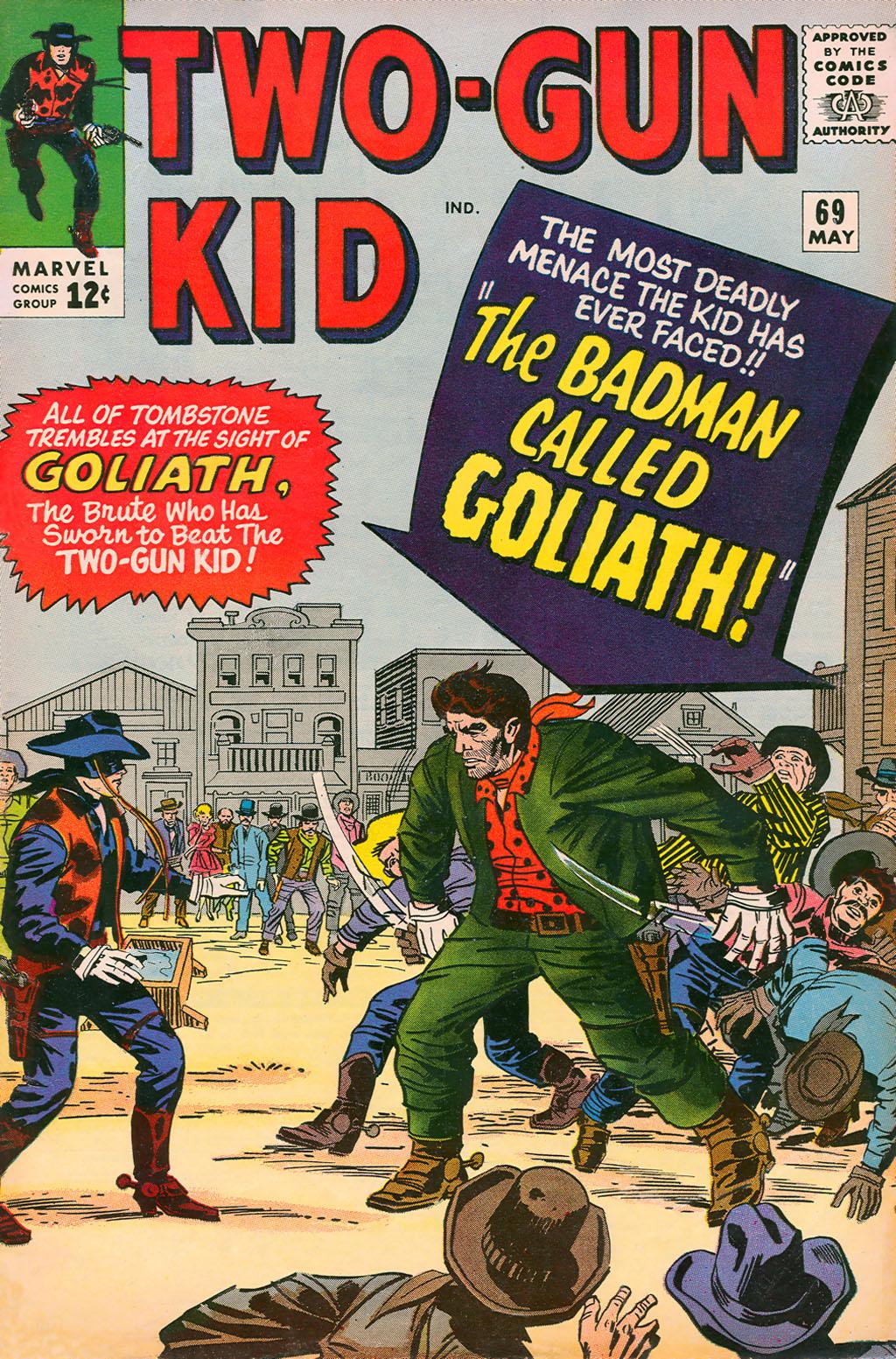 Read online Two-Gun Kid comic -  Issue #69 - 1