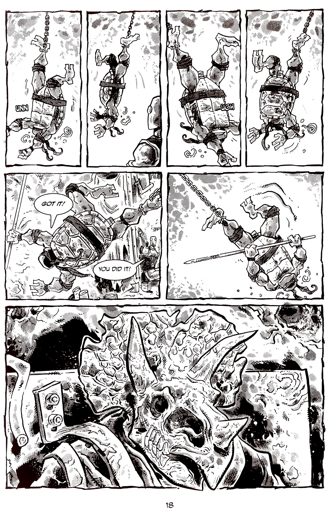 Read online Tales of the TMNT comic -  Issue #70 - 23