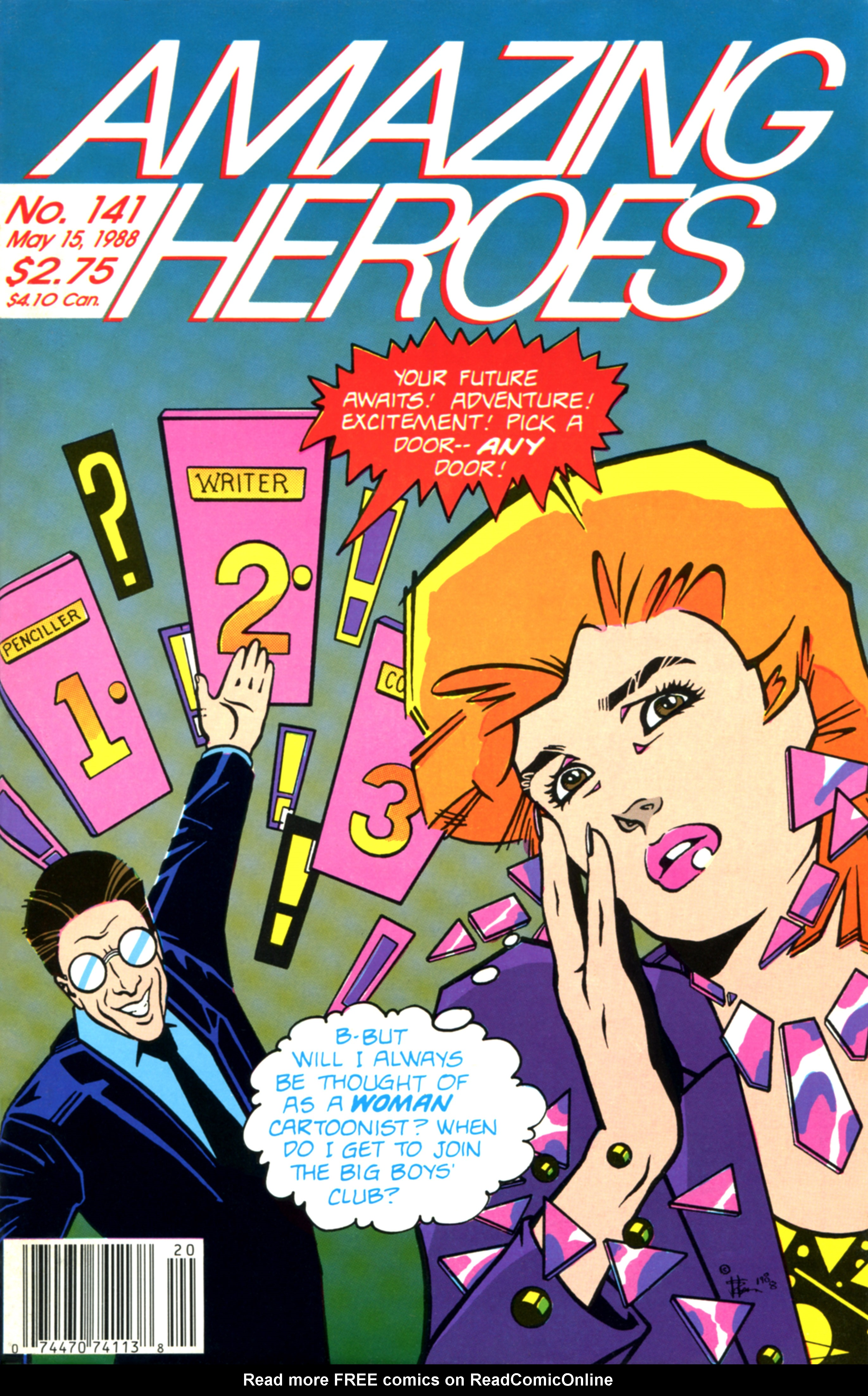 Read online Amazing Heroes comic -  Issue #141 - 1