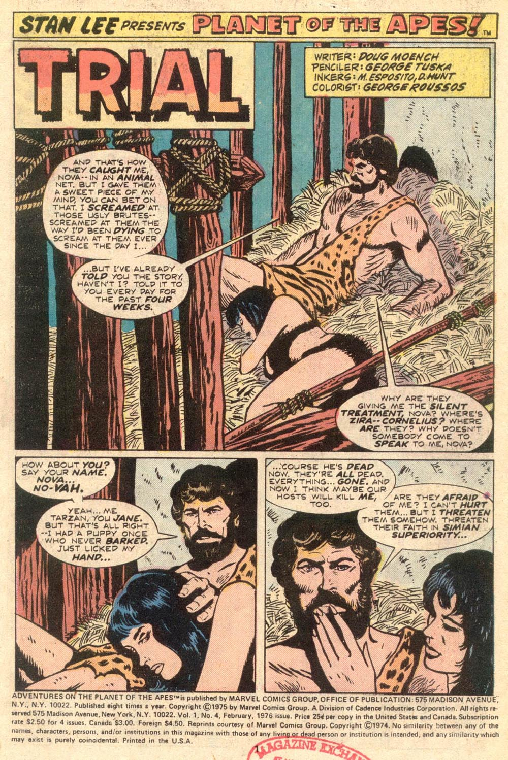 Read online Adventures on the Planet of the Apes comic -  Issue #4 - 2