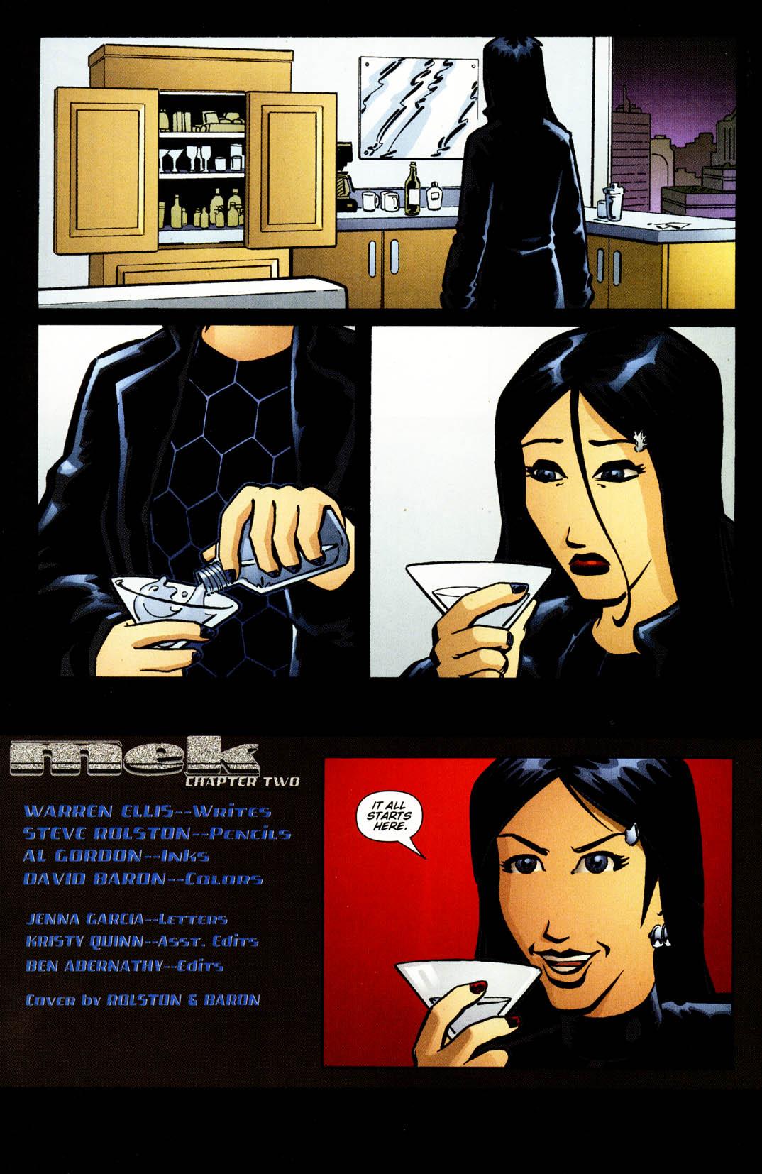Read online Mek comic -  Issue #2 - 6