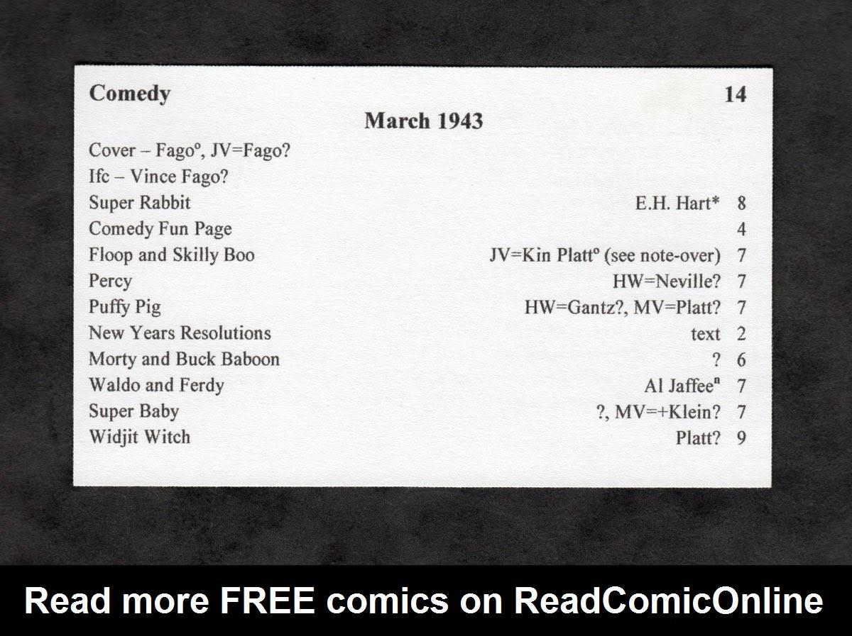 Read online Comedy Comics (1942) comic -  Issue #14 - 69