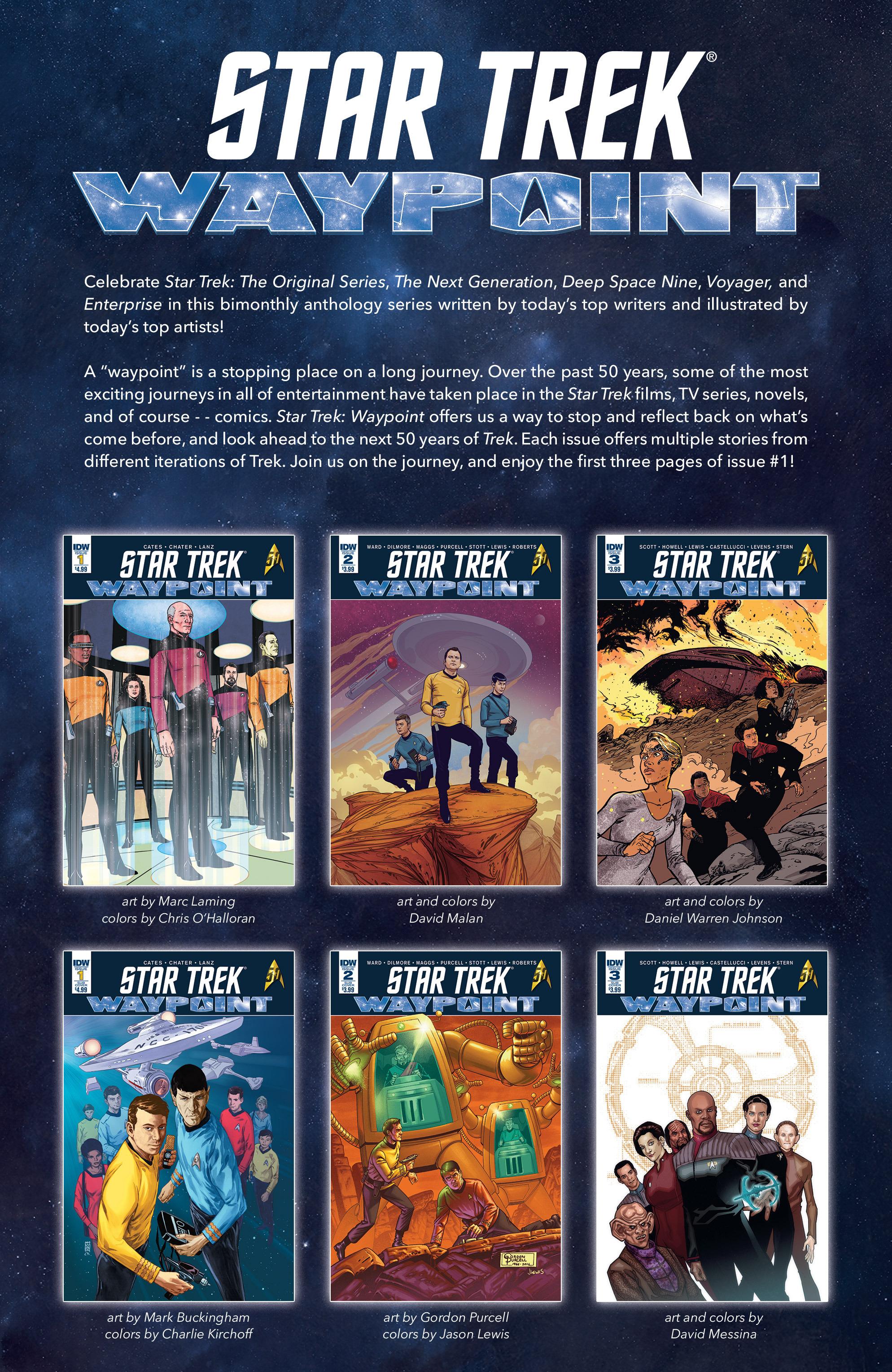 Read online Star Trek: Deviations comic -  Issue # Full - 36