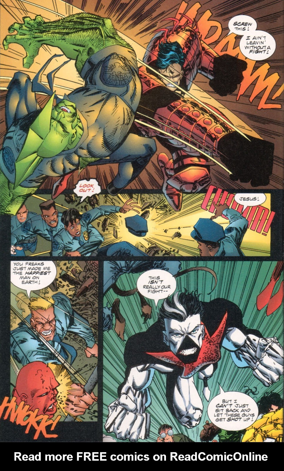 The Savage Dragon (1993) Issue #29 #32 - English 15