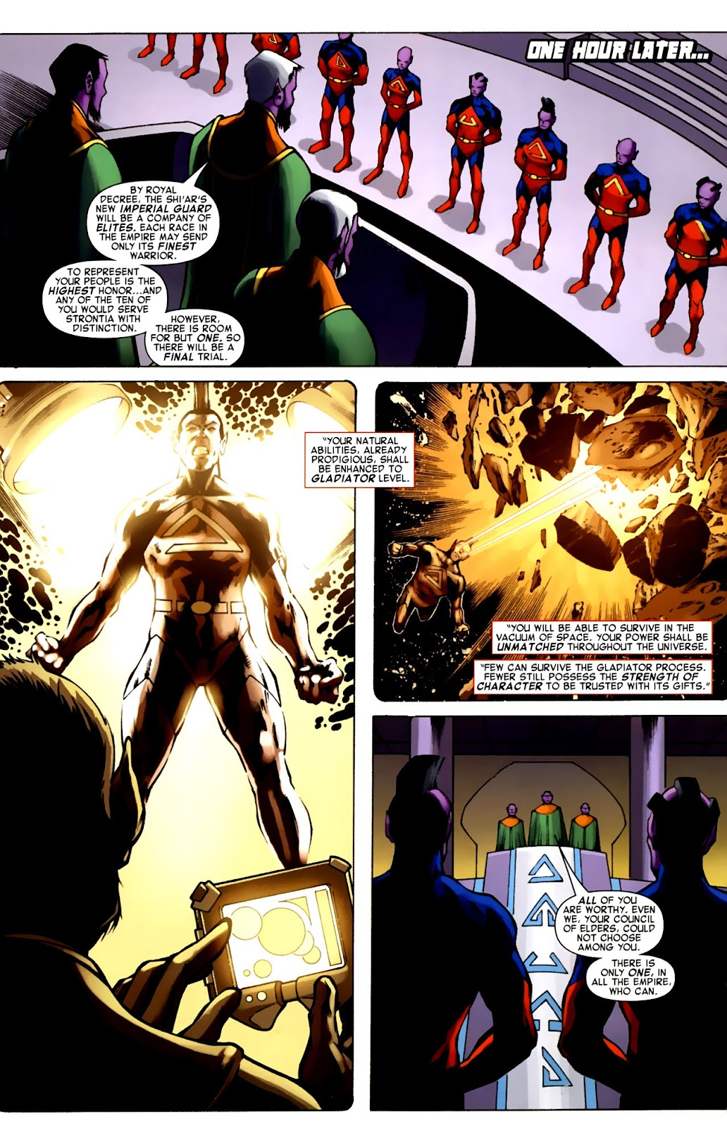 War of Kings: Warriors Issue #1 #1 - English 8