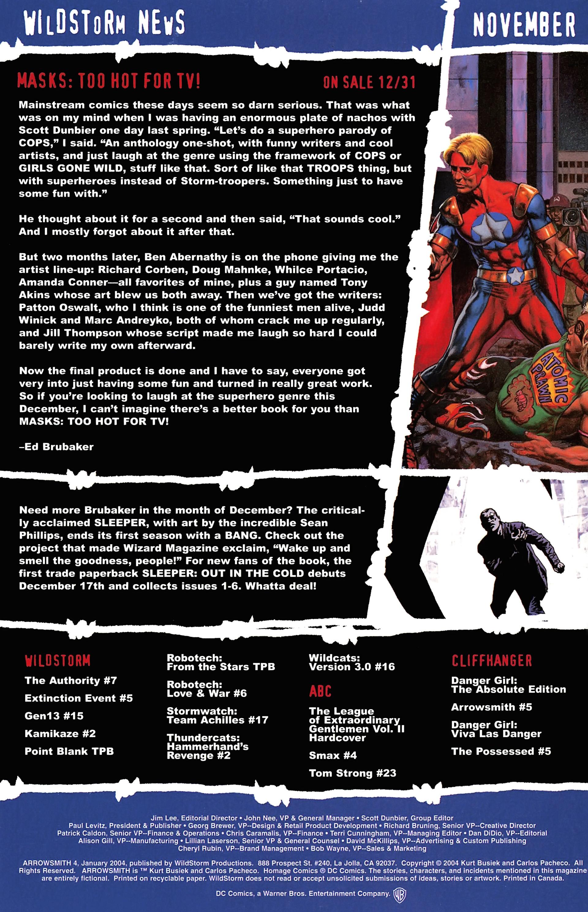 Read online Arrowsmith comic -  Issue #4 - 25