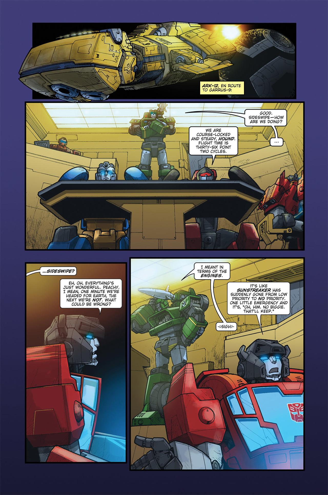 Read online Transformers Spotlight: Cyclonus comic -  Issue # Full - 7