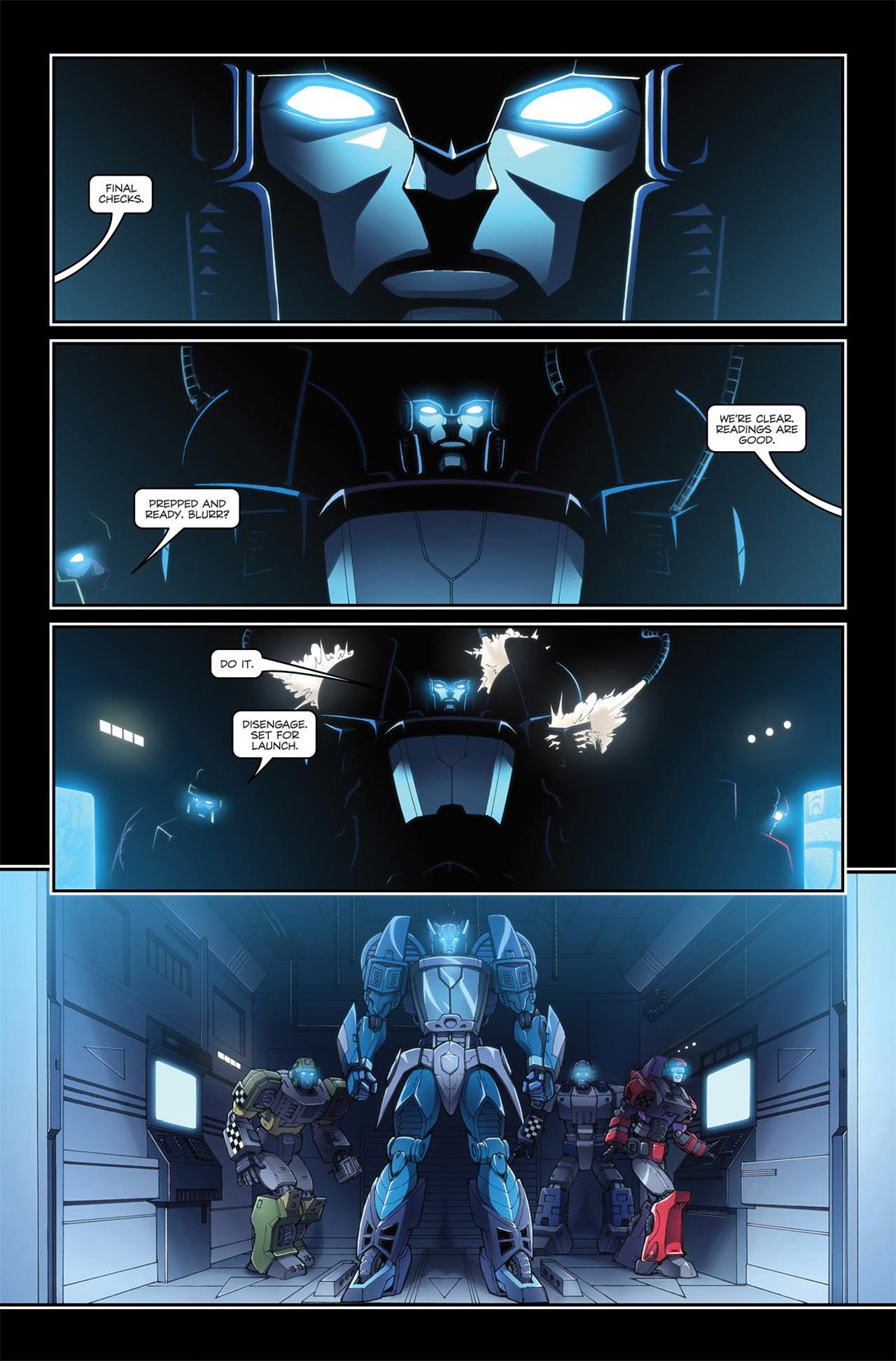 Read online Transformers Spotlight: Blurr comic -  Issue # Full - 5