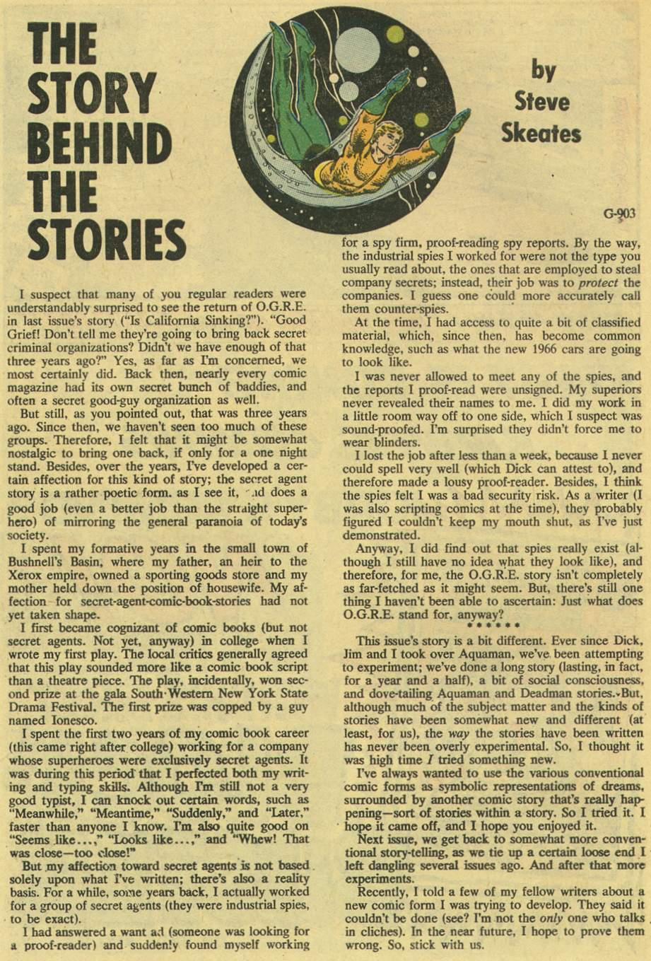 Read online Aquaman (1962) comic -  Issue #54 - 30