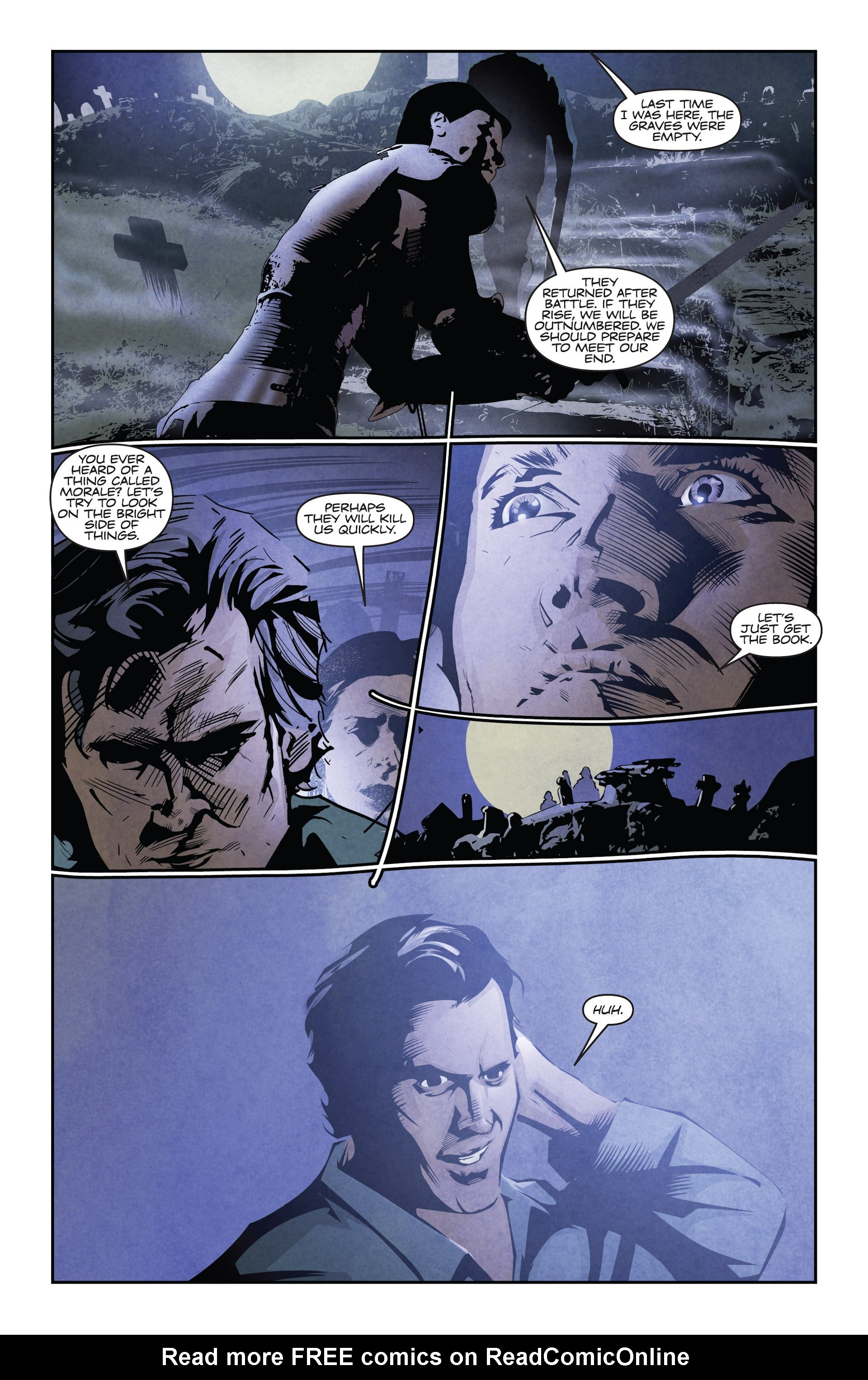 Read online Ash and the Army of Darkness comic -  Issue #4 - 16