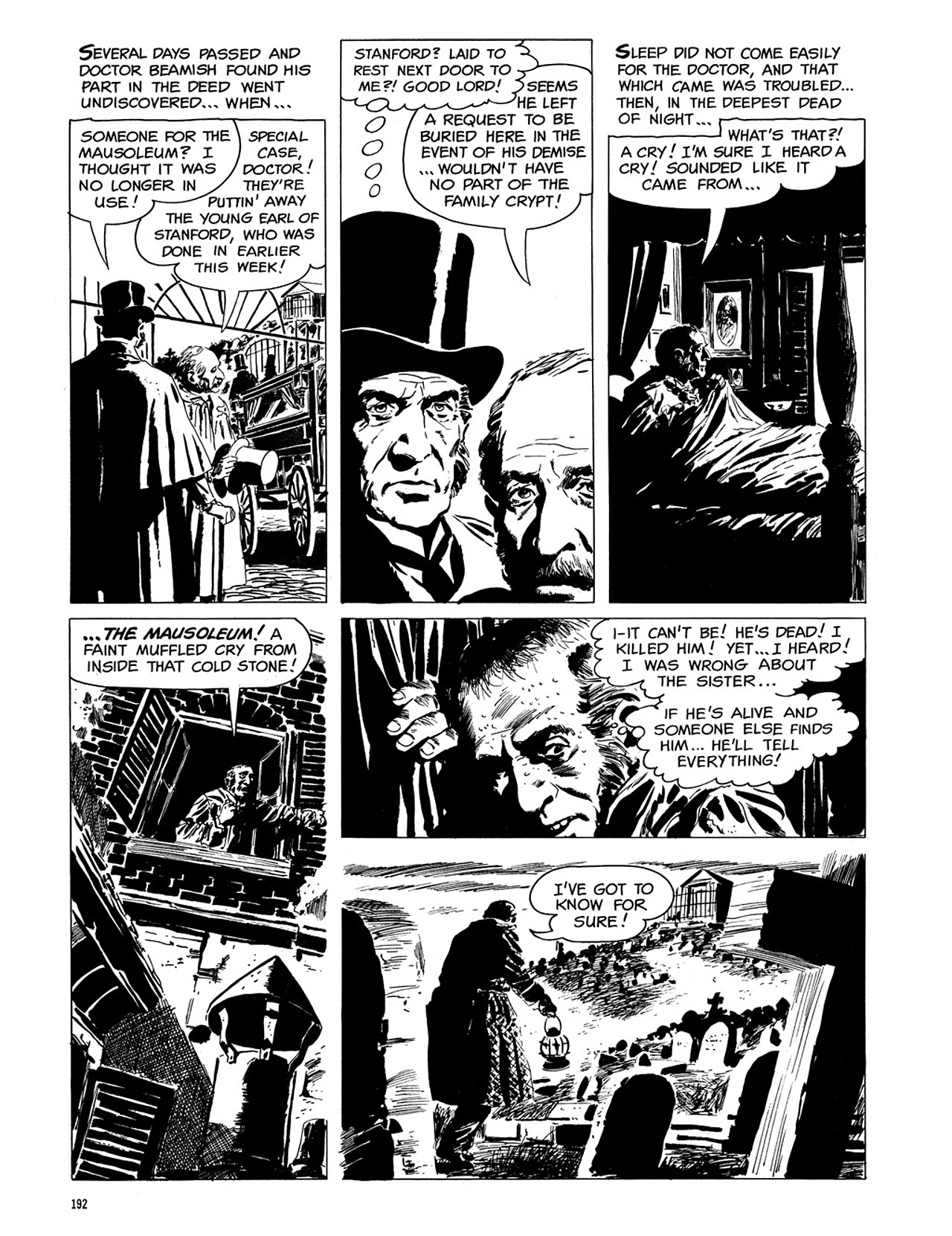 Read online Eerie Archives comic -  Issue # TPB 3 - 193