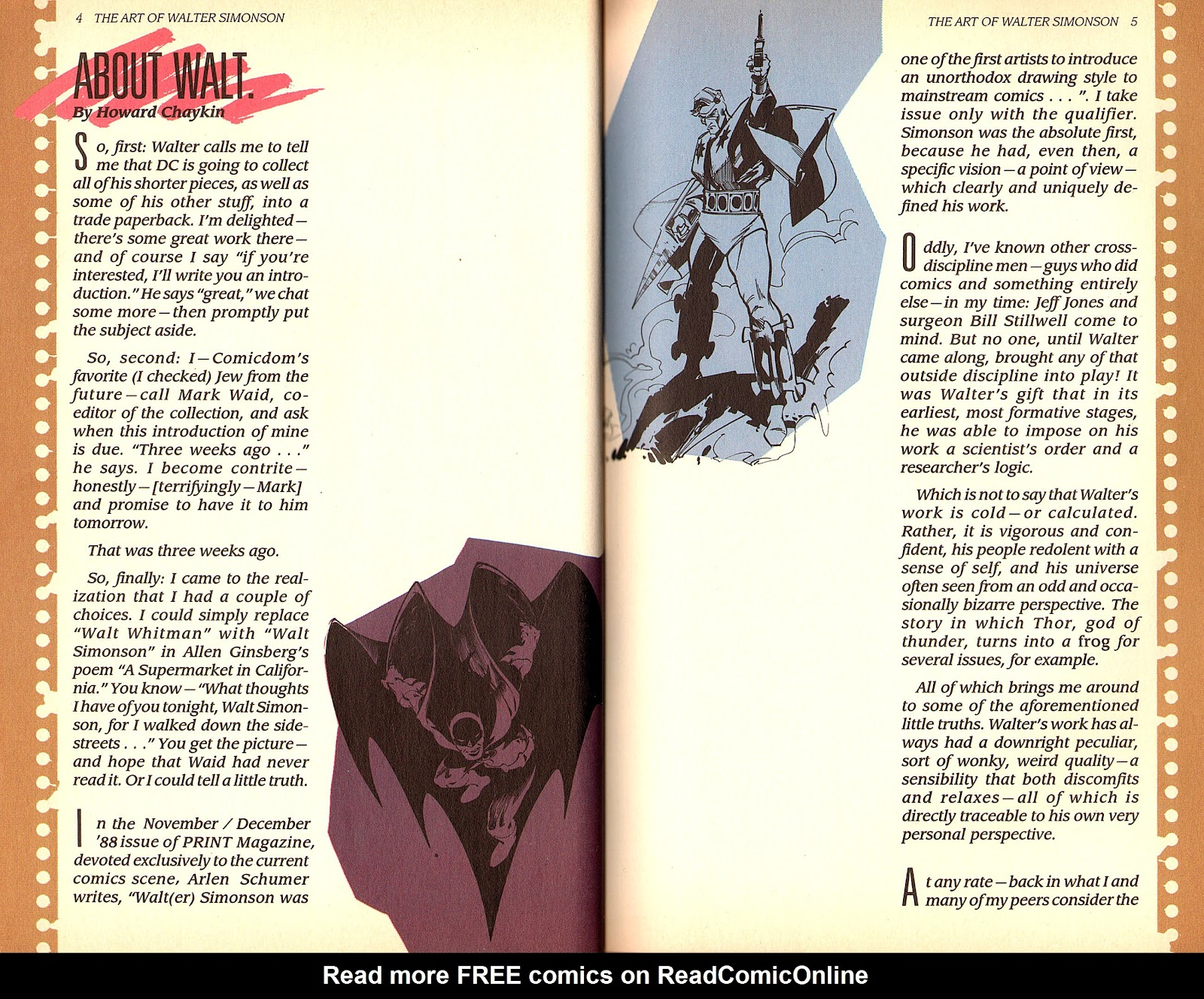 Read online The Art of Walter Simonson comic -  Issue # TPB - 4